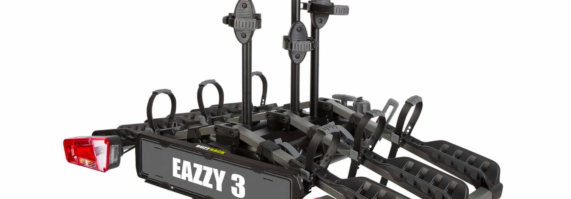 Eazzy 3 BikeTow Ball Mount Fold Platform Rack