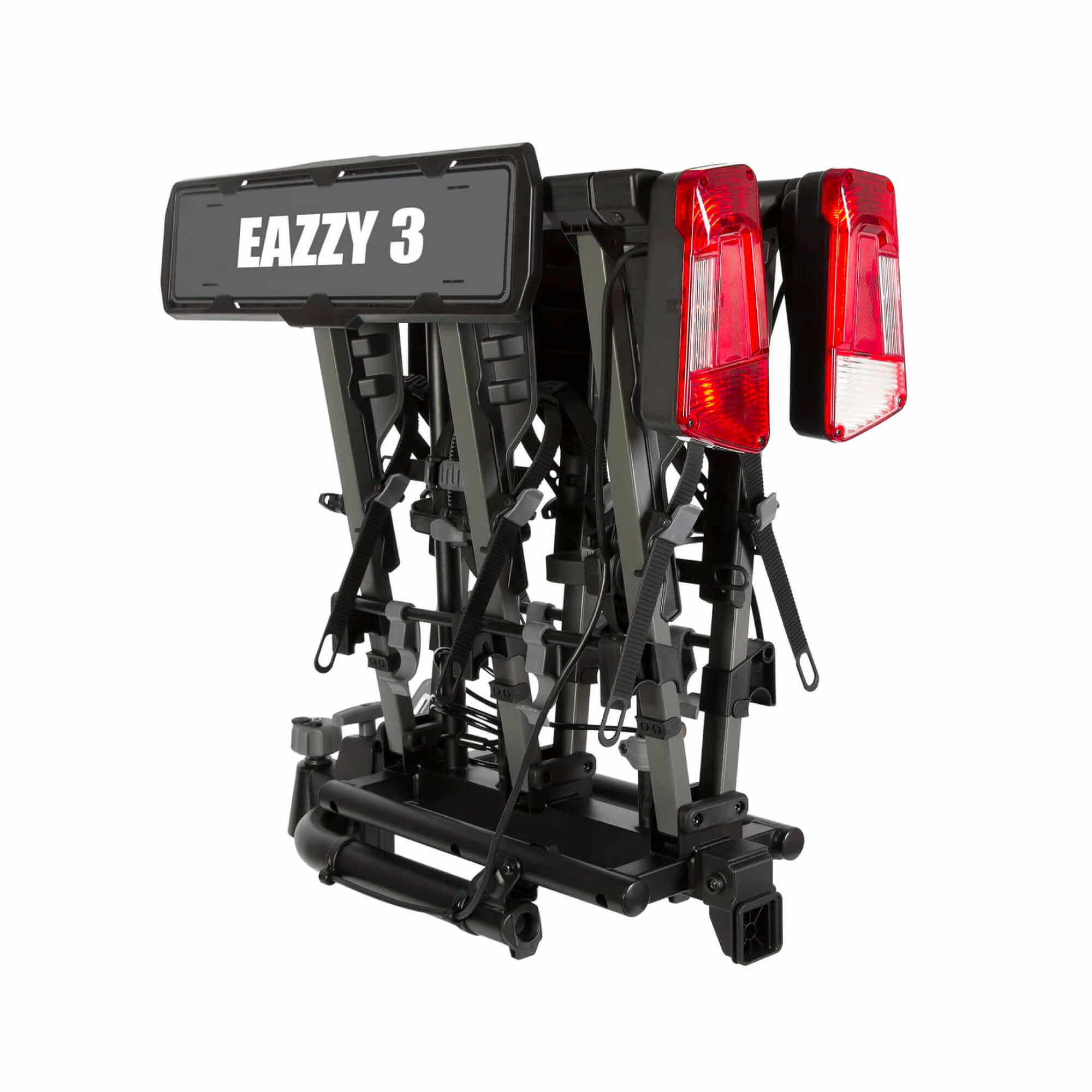 Eazzy 3 BikeTow Ball Mount Fold Platform Rack-2