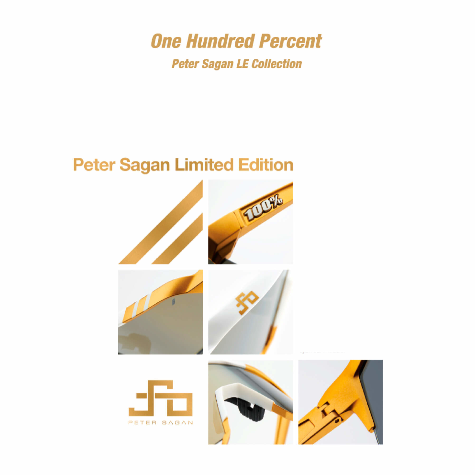 Speedcraft Peter Sagan Le White Gold Colour: White-5