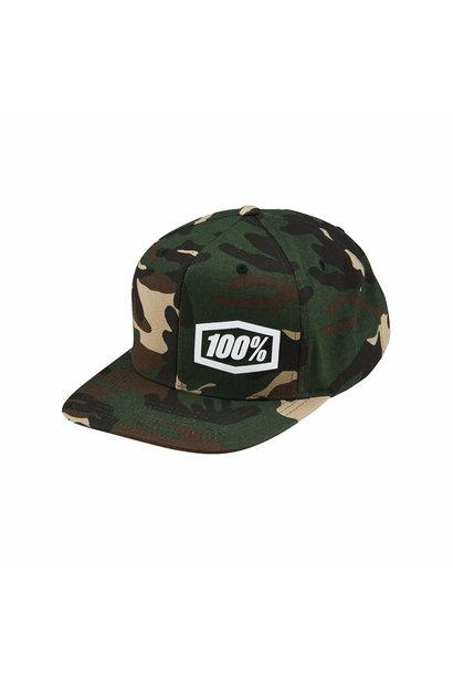 Machine Snapback Hat Camo