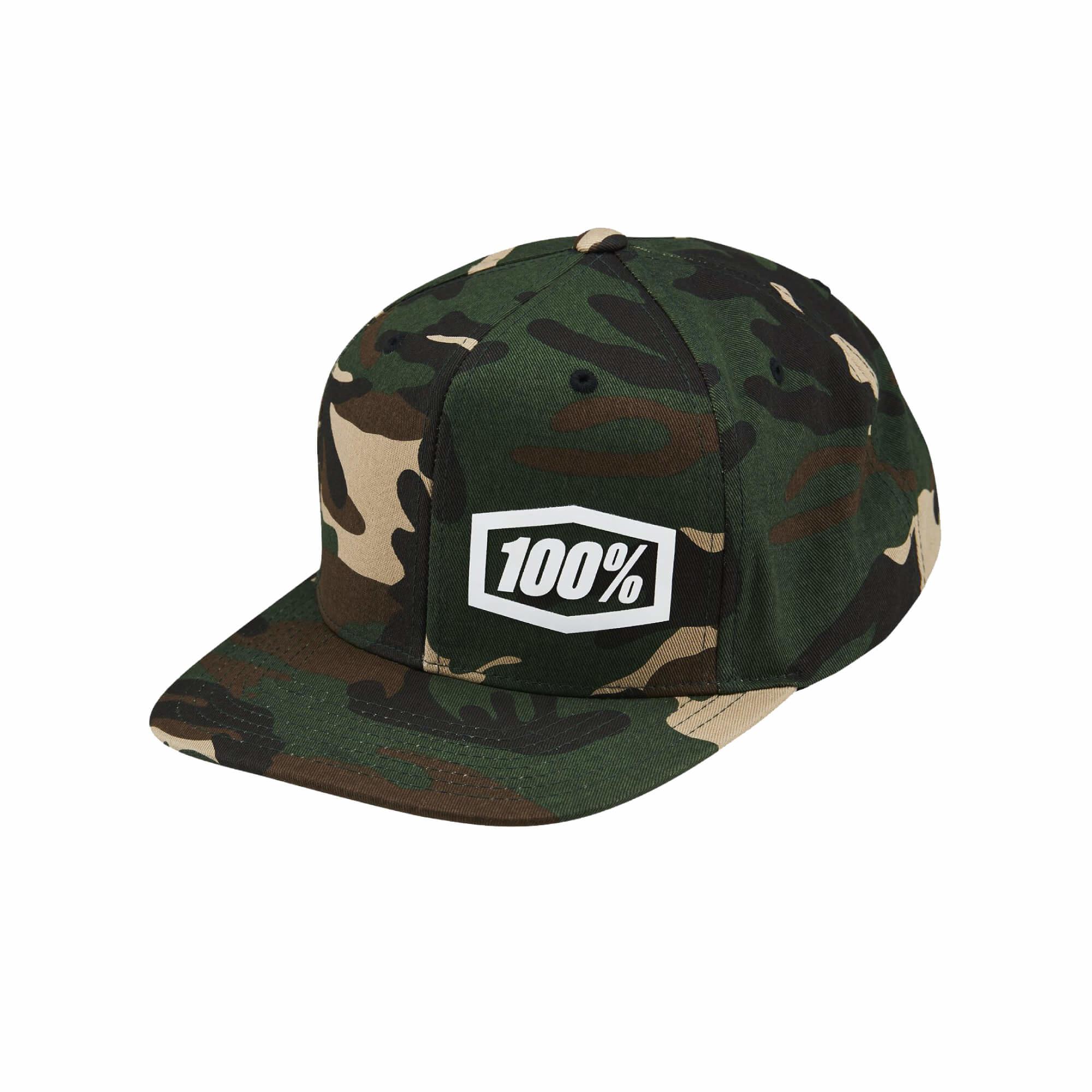 Machine Snapback Hat Camo-1