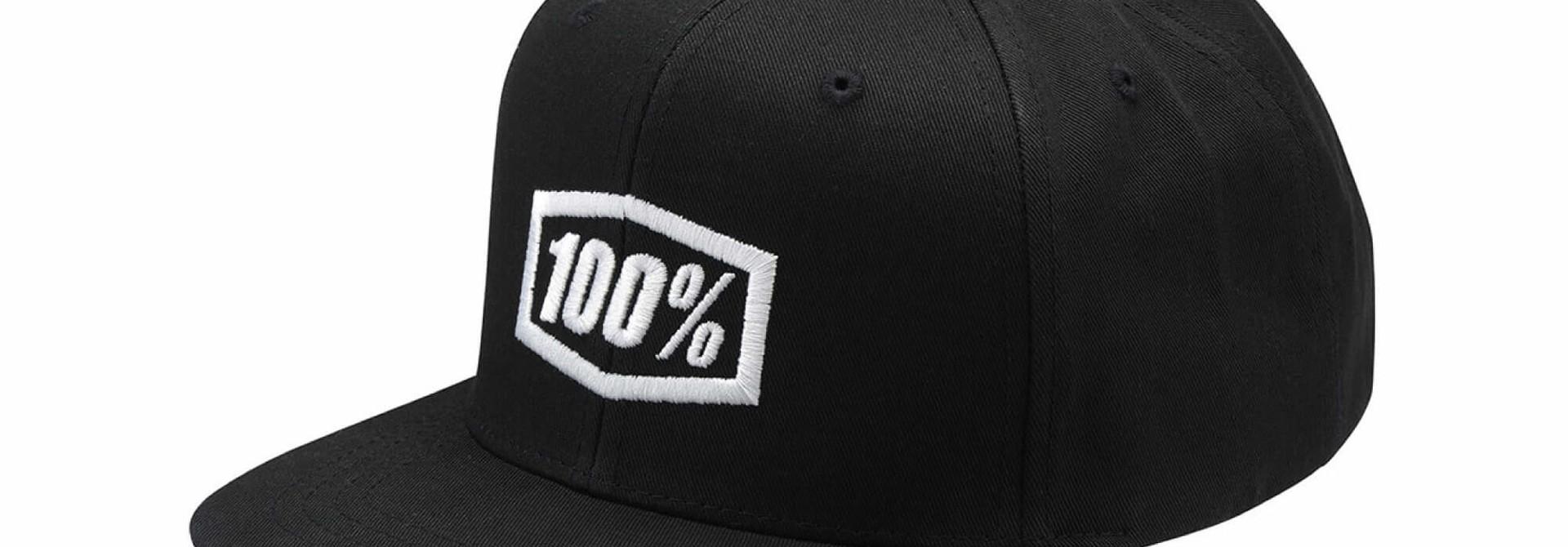 Enterprise Snapback Hat Black