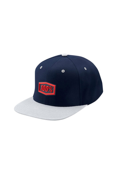 Enterprise Snapback Hat Navy