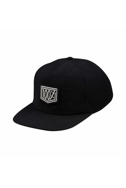 Pioneer Snapback Hat Black