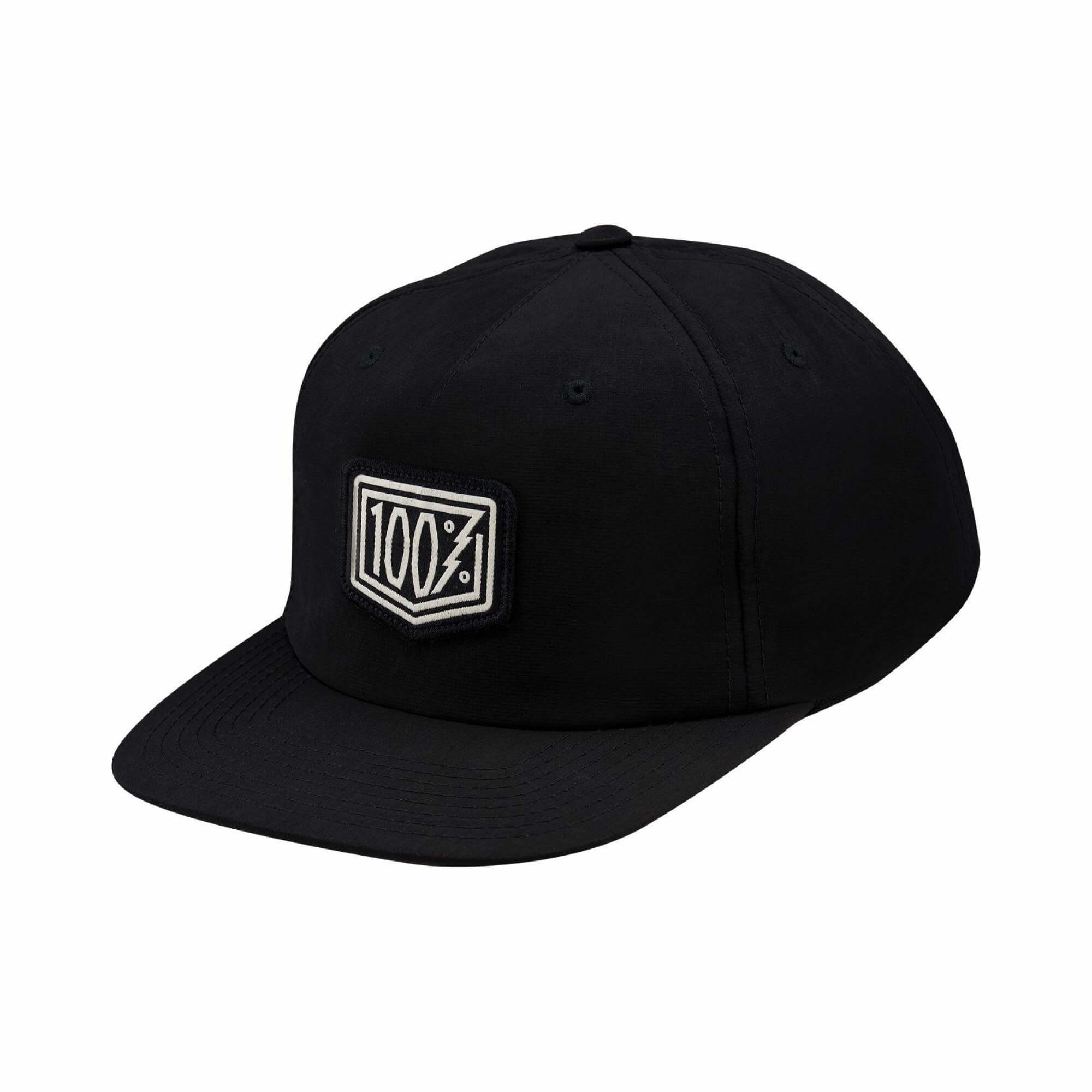 Pioneer Snapback Hat Black-1