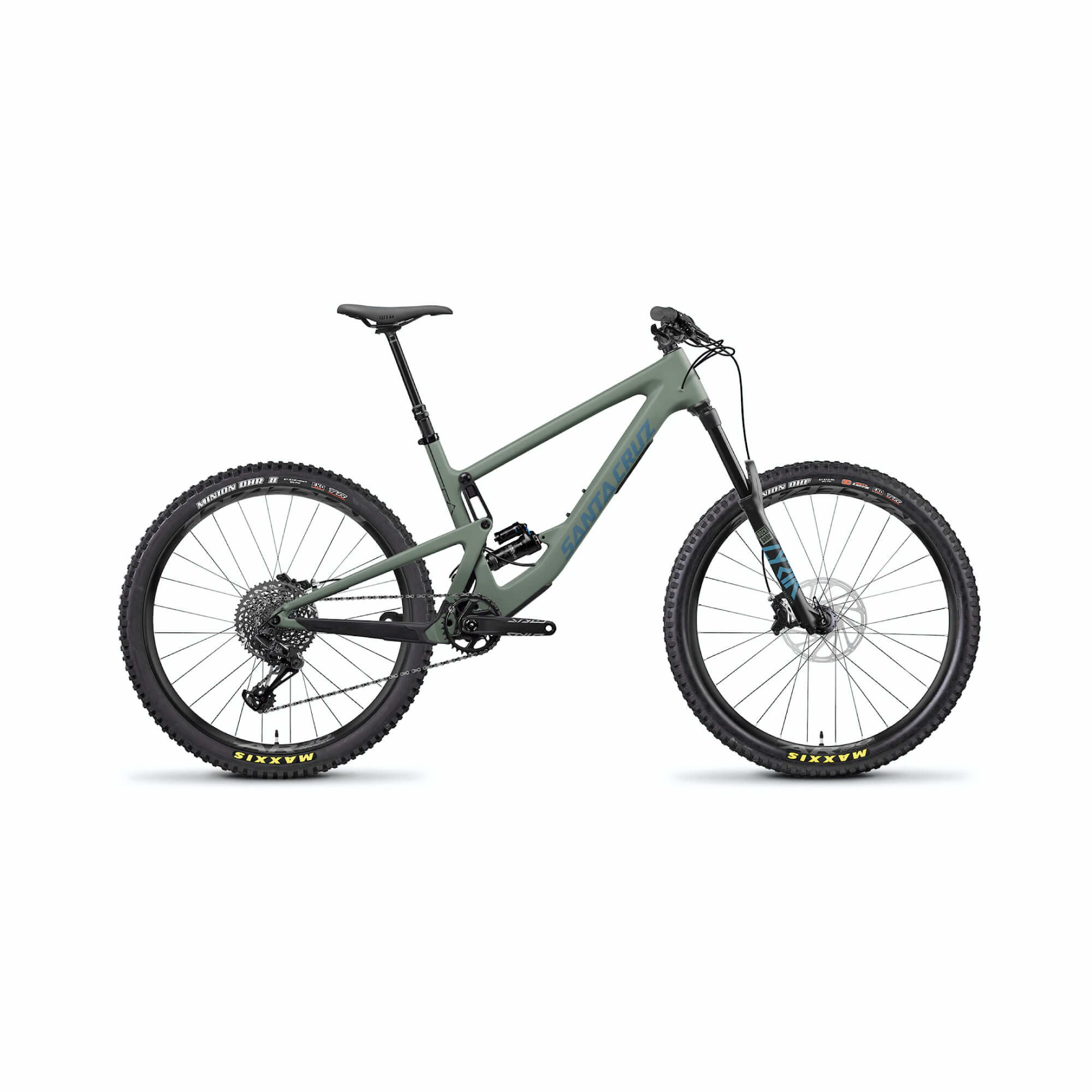 Bronson 3.0 C 27.5 S GX RS Lyrik Select +160 Matte Olive Small 2020-3