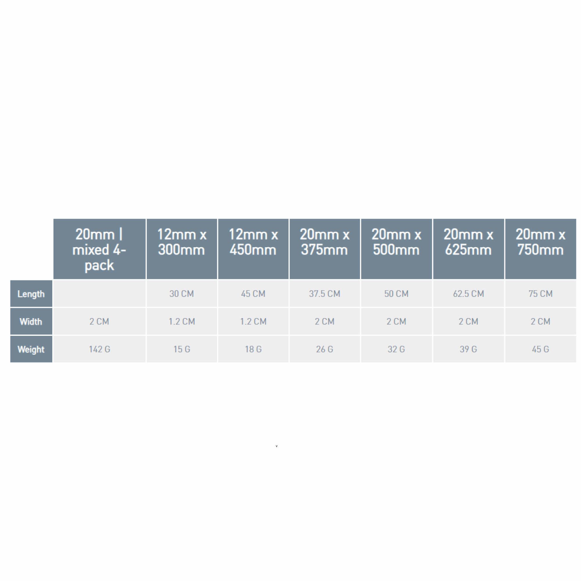 Stretch-Loc TPU Straps 2 Pack-6