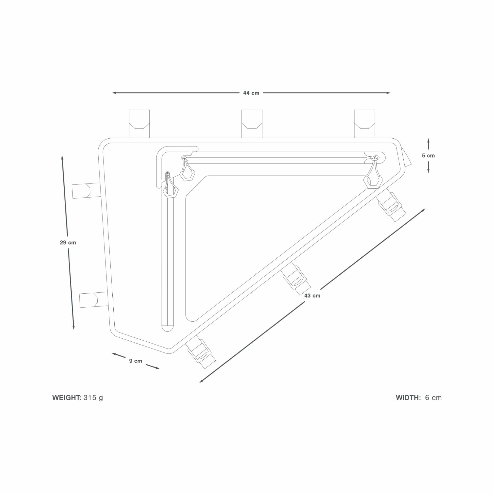 Backcountry2 Full Frame Pack 6 L-5