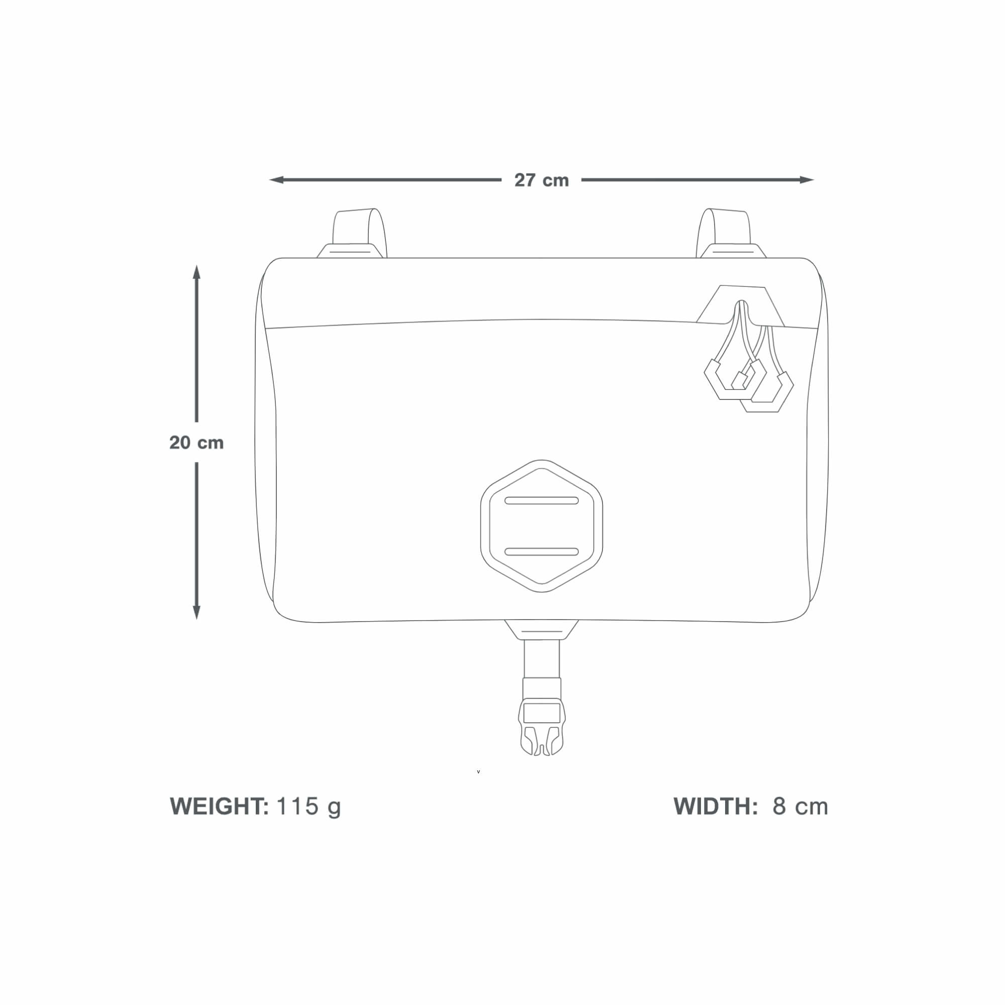 Expedition Accessory Pocket 4.5 L-6