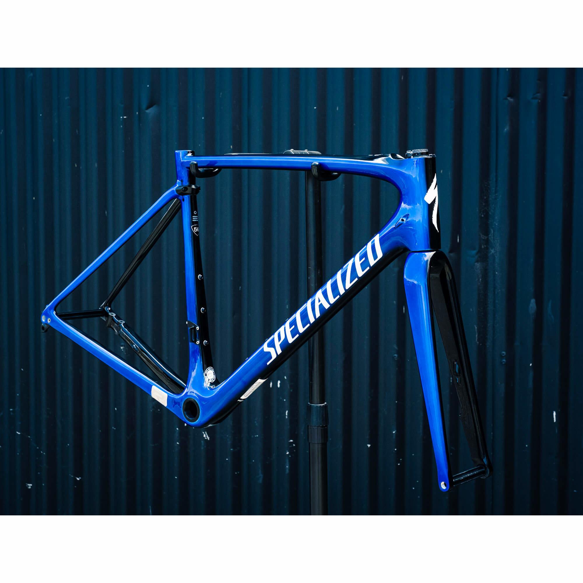 Roubaix Comp Frame Acblu/Tarblk 56cm 2017-1