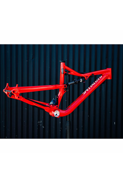 Camber FSR Comp 650b Frame Flored/Wht Medium 2016