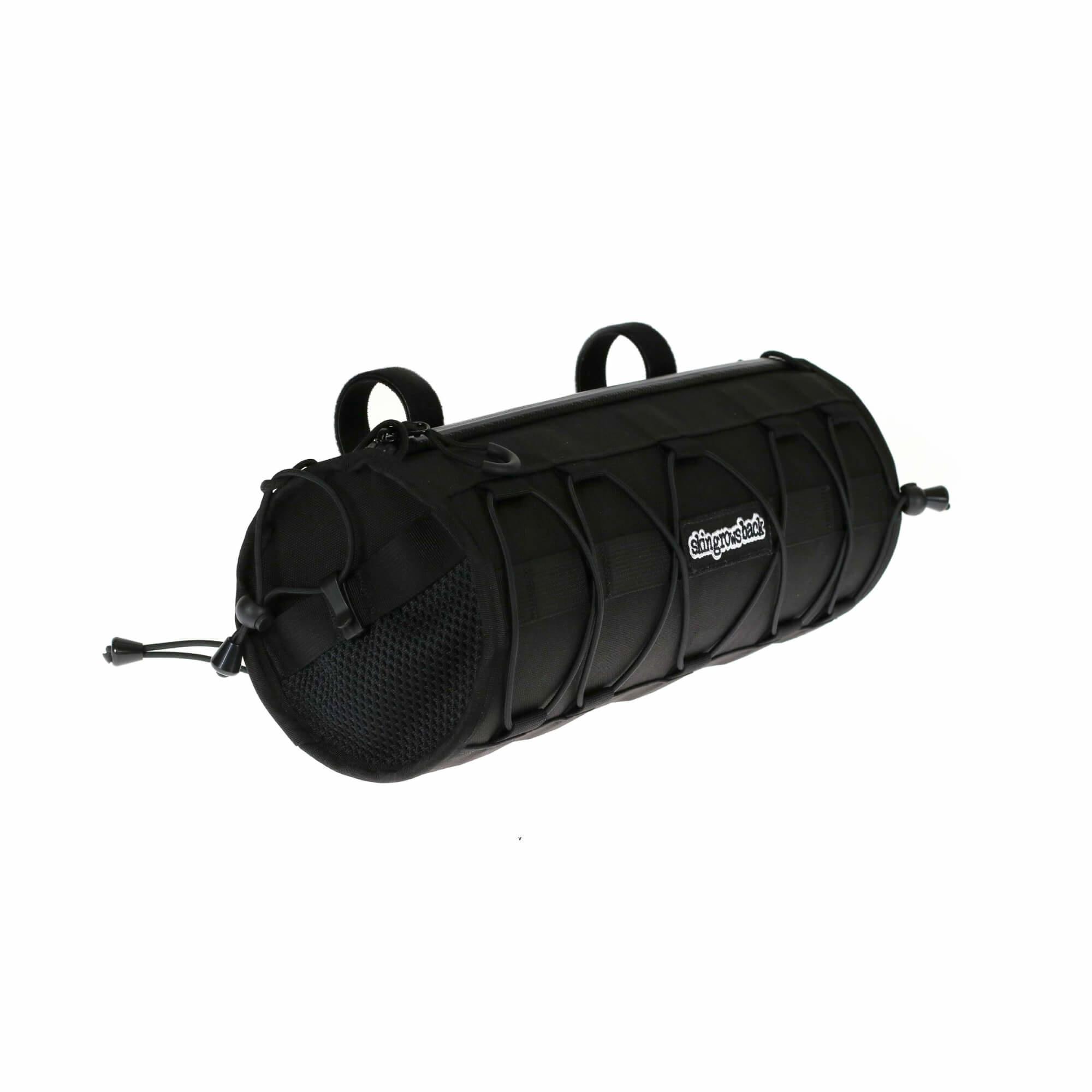 Wide Boy Handlebar Bag Black-2