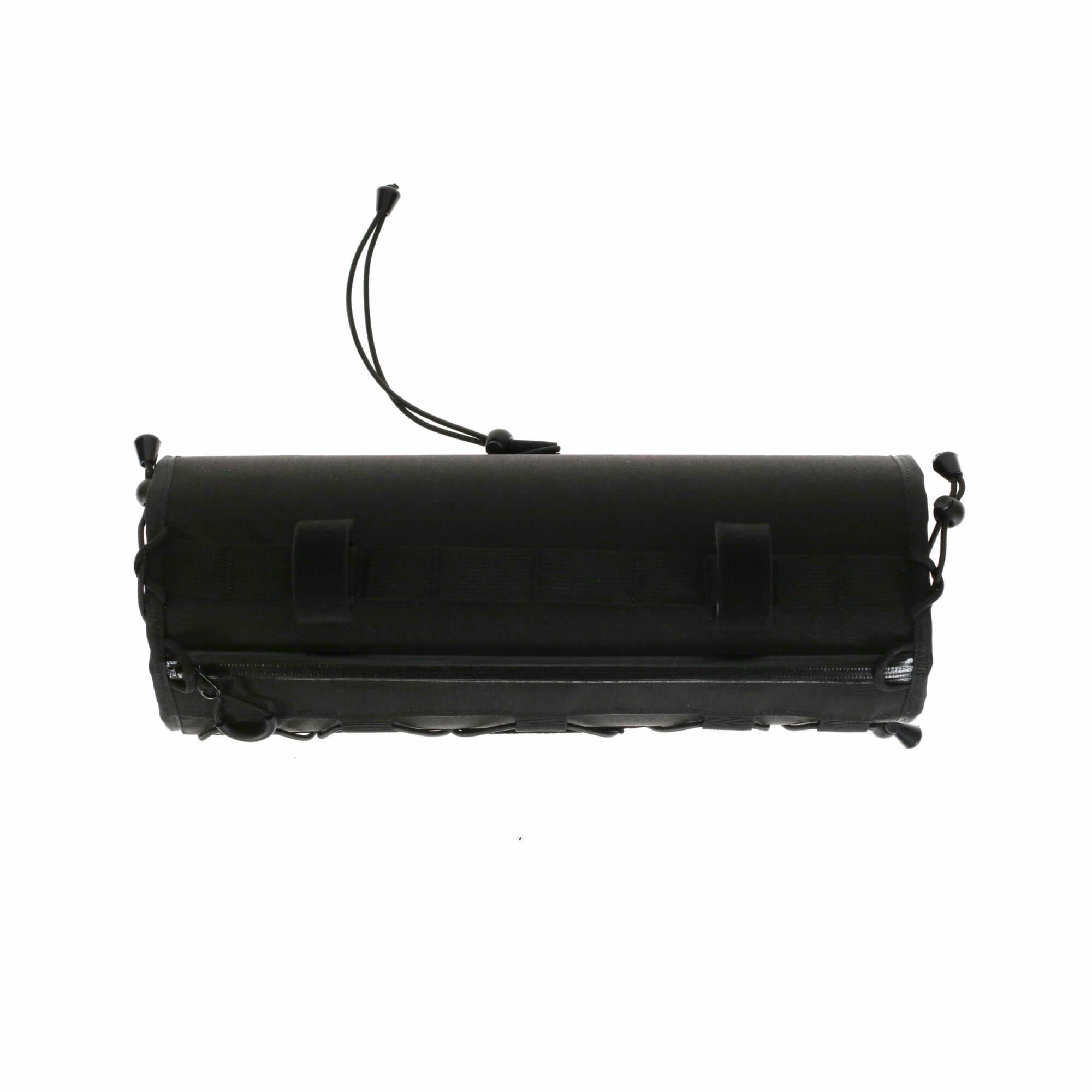 Wide Boy Handlebar Bag Black-3