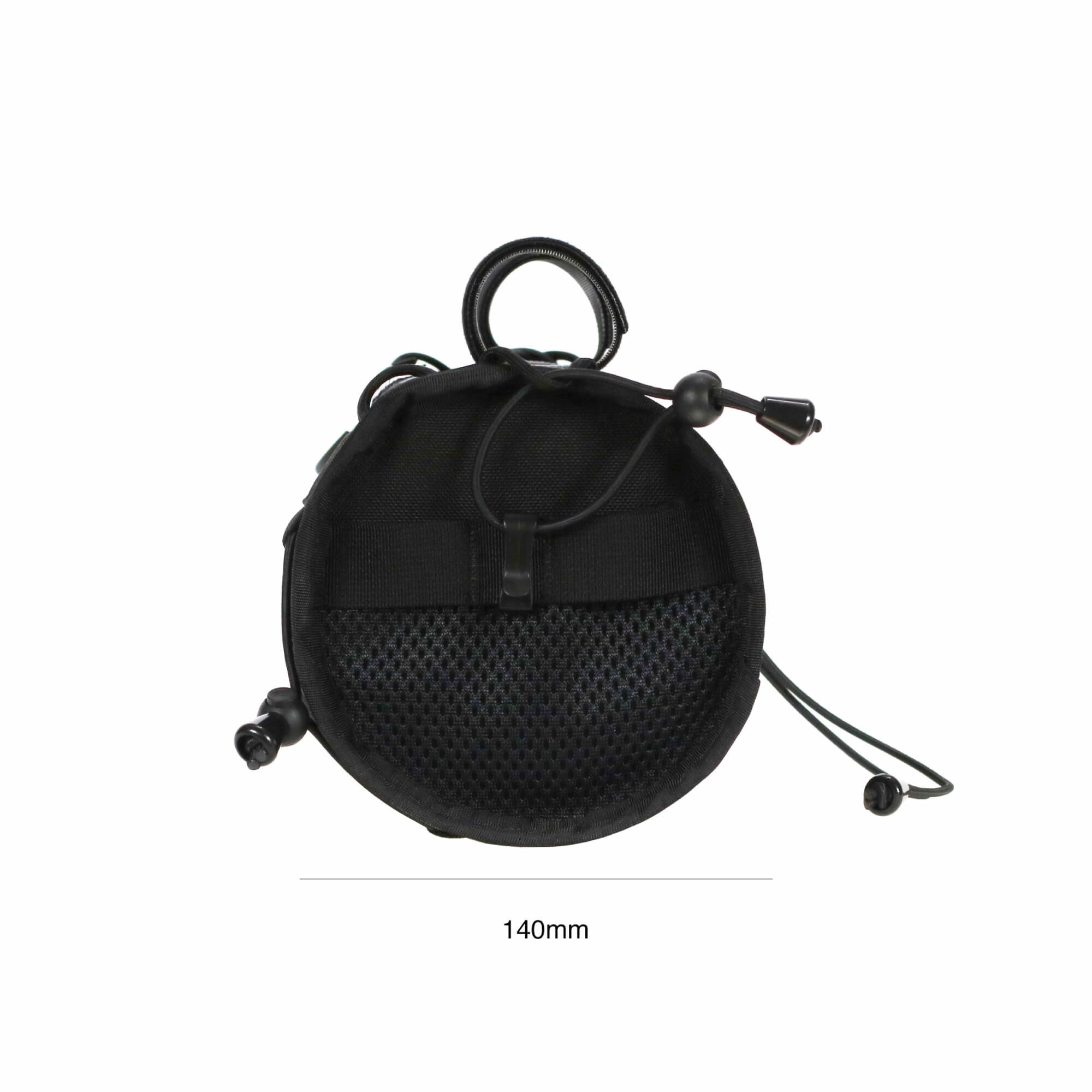 Wide Boy Handlebar Bag Black-5