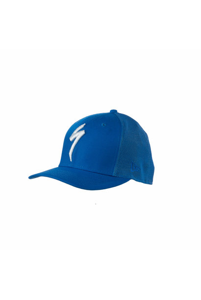 New Era Trucker Hat S-Logo Cobalt OSFA