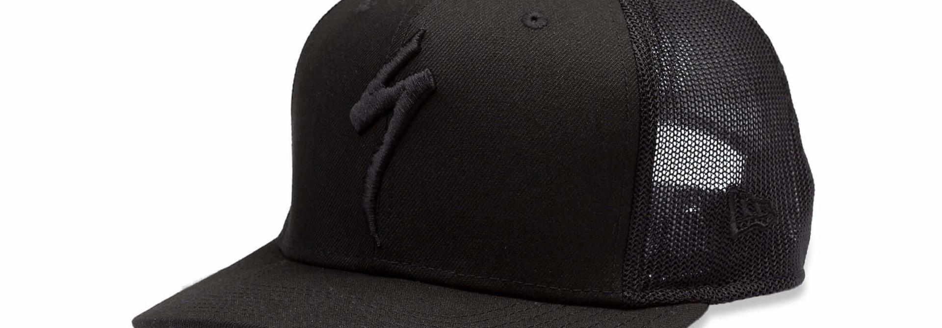New Era Trucker Hat S-Logo Black OSFA