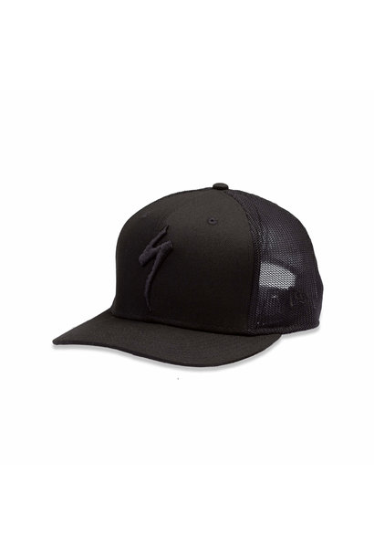 New Era Trucker Hat S-Logo Black OSFA