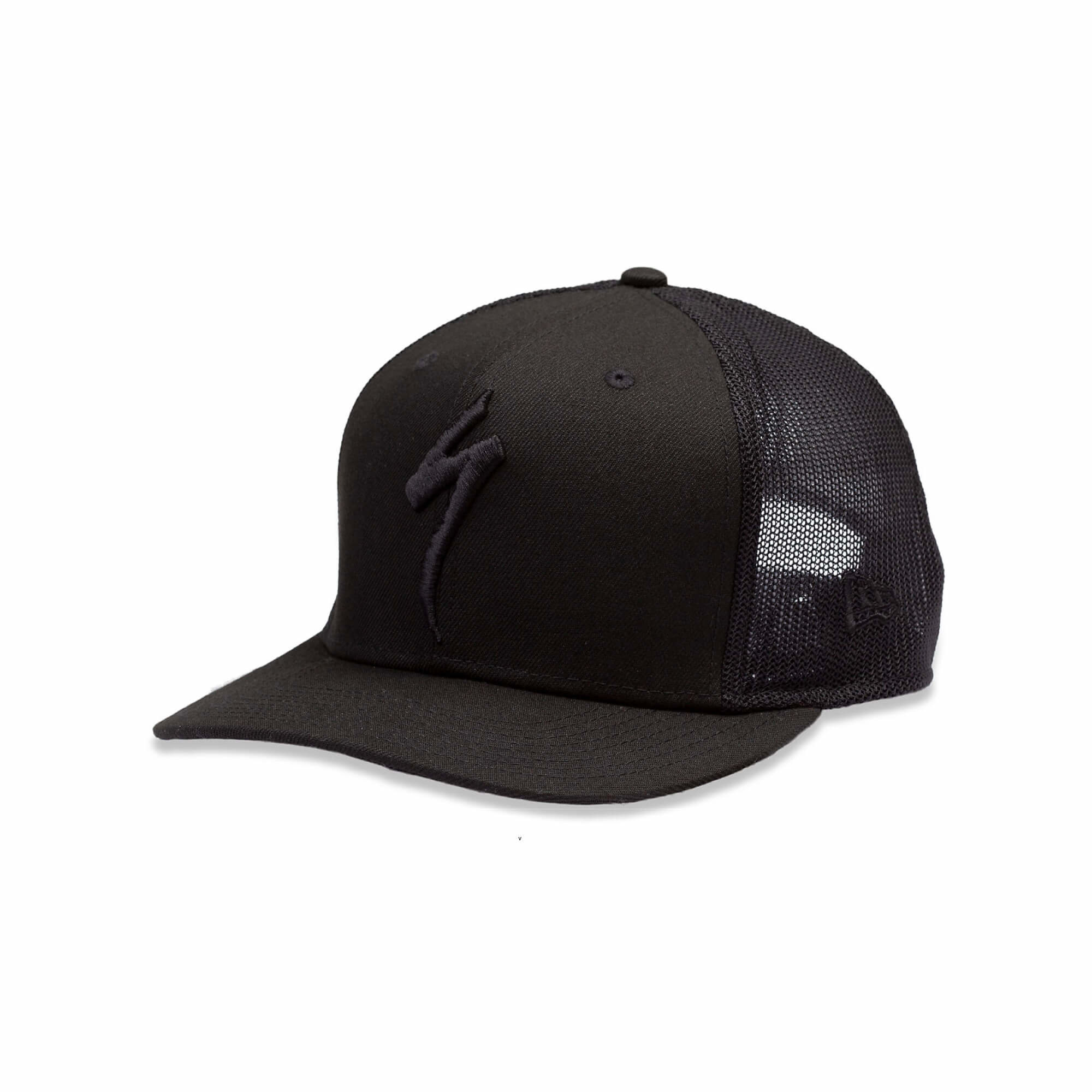 New Era Trucker Hat S-Logo Black OSFA-1