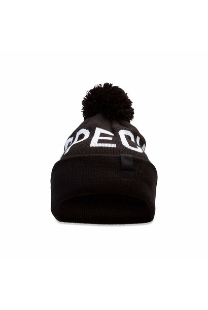 New Era Pom Beanie Specialized Black OSFA