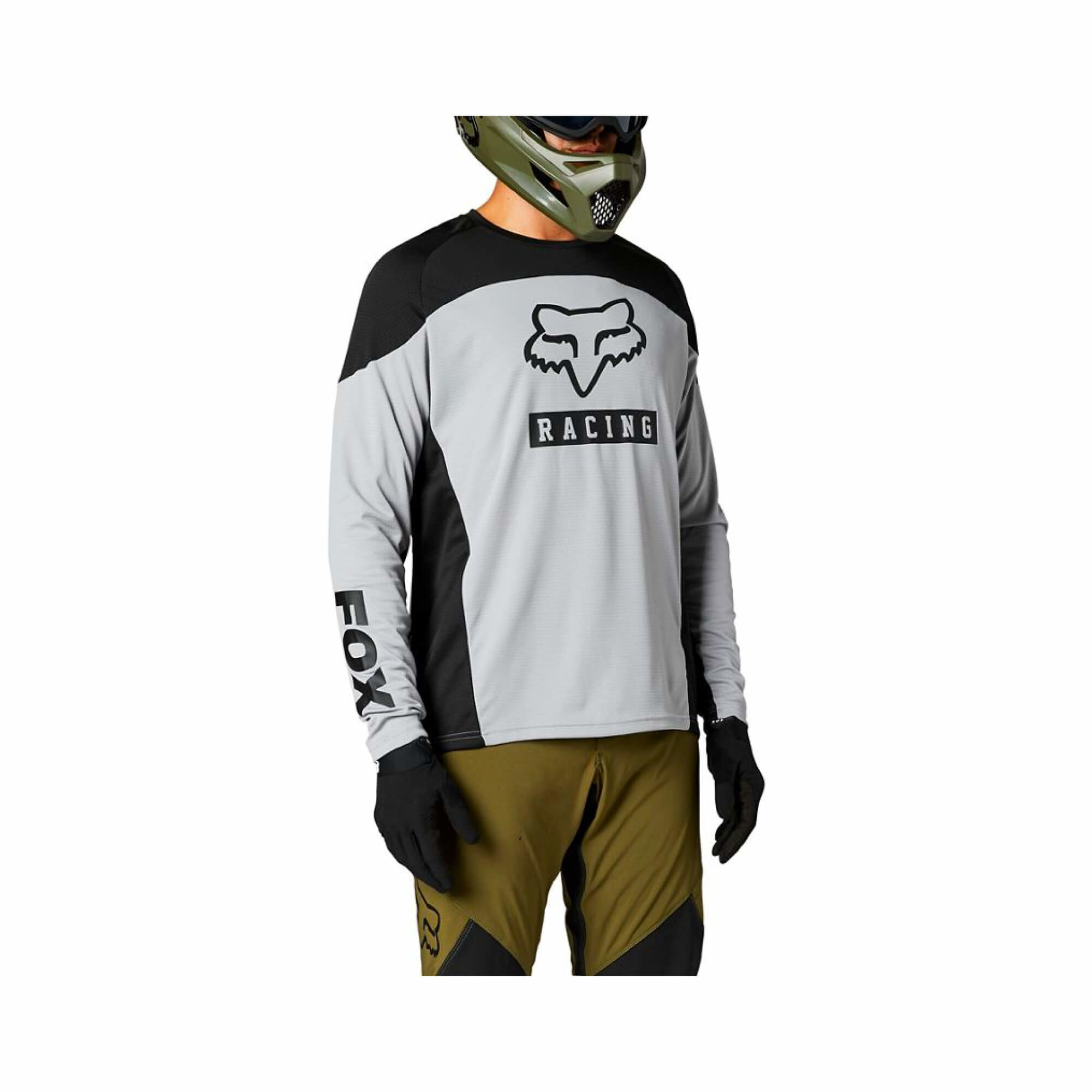 Defend Long Sleeve Jersey Graphic-1
