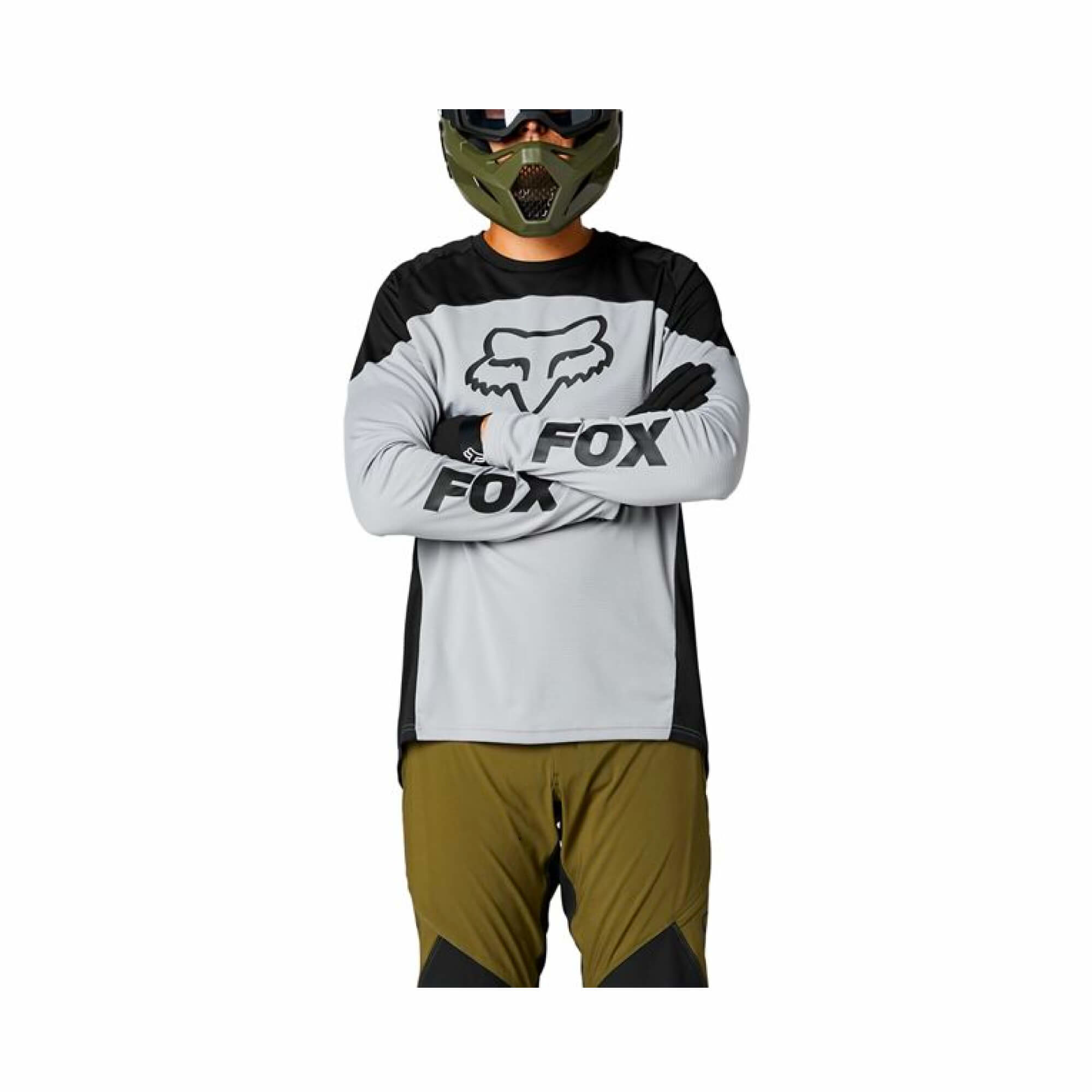 Defend Long Sleeve Jersey Graphic-2