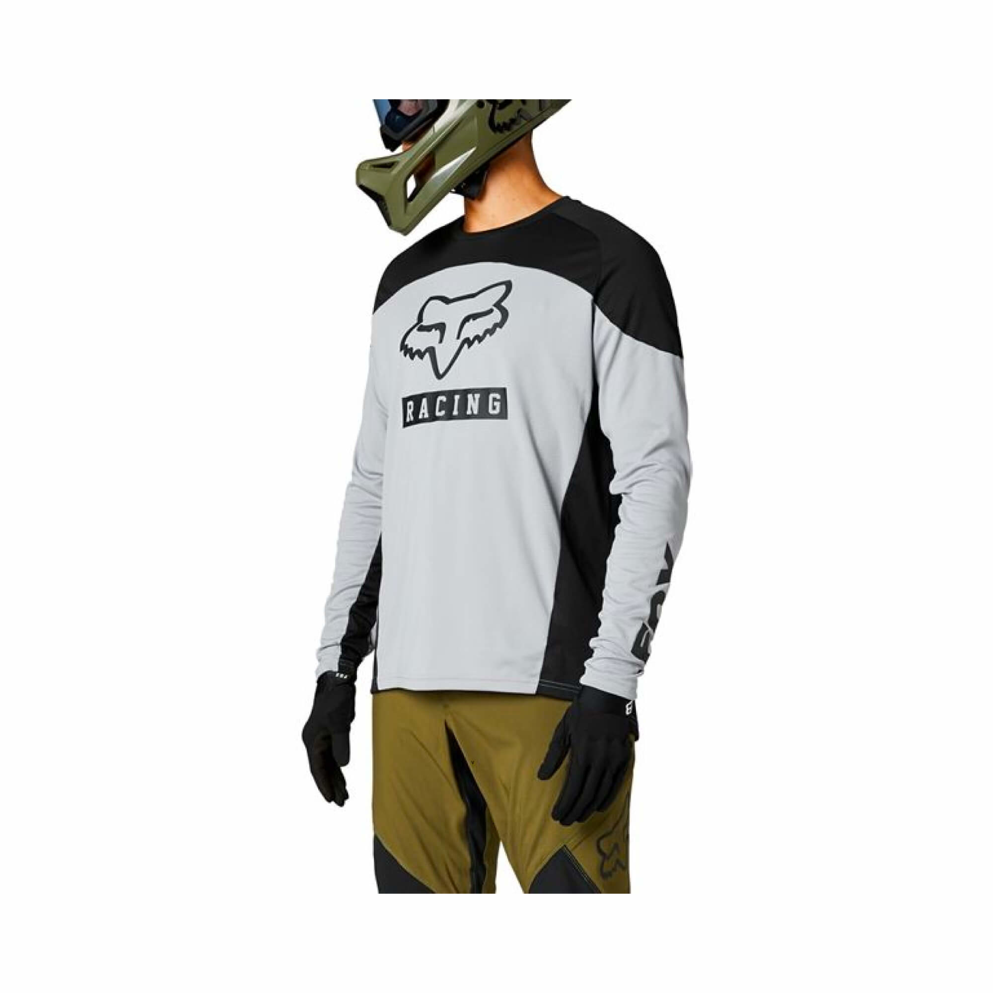 Defend Long Sleeve Jersey Graphic-3