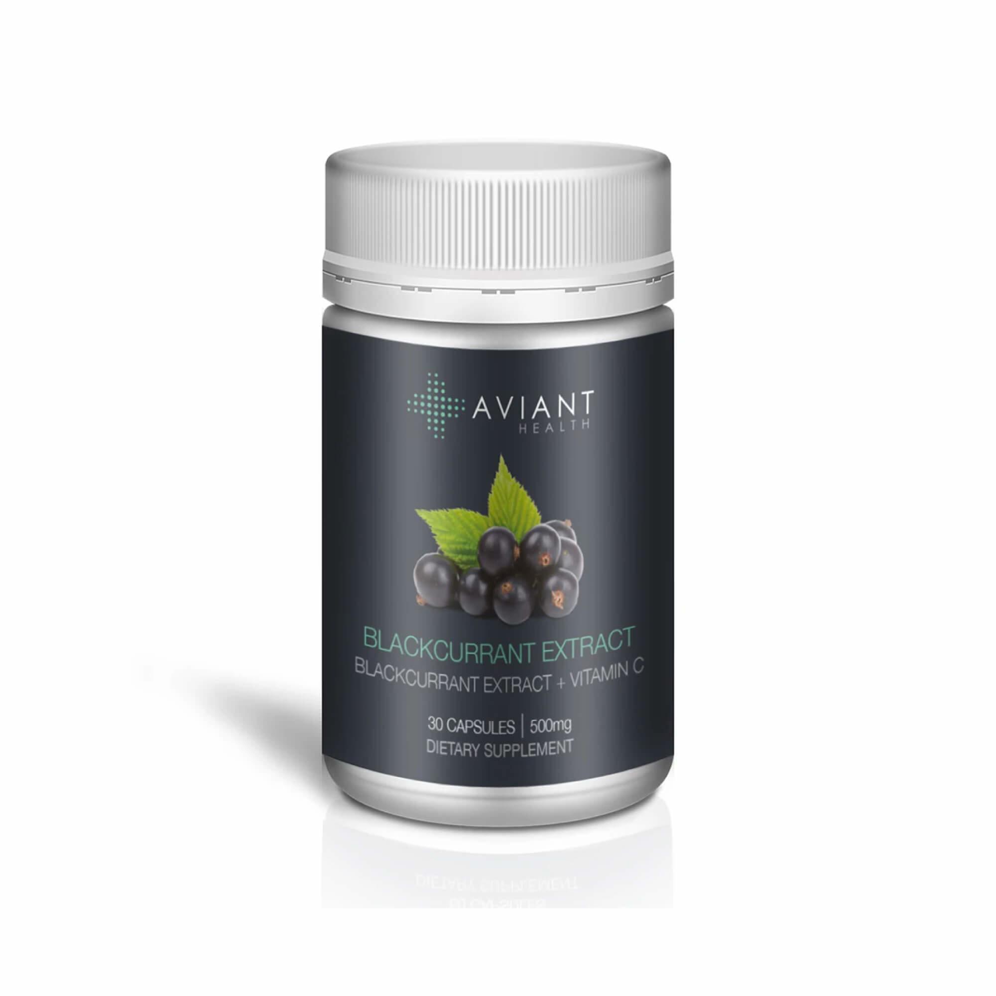 Aviant Blackcurrant Extract - 30Capsules-1