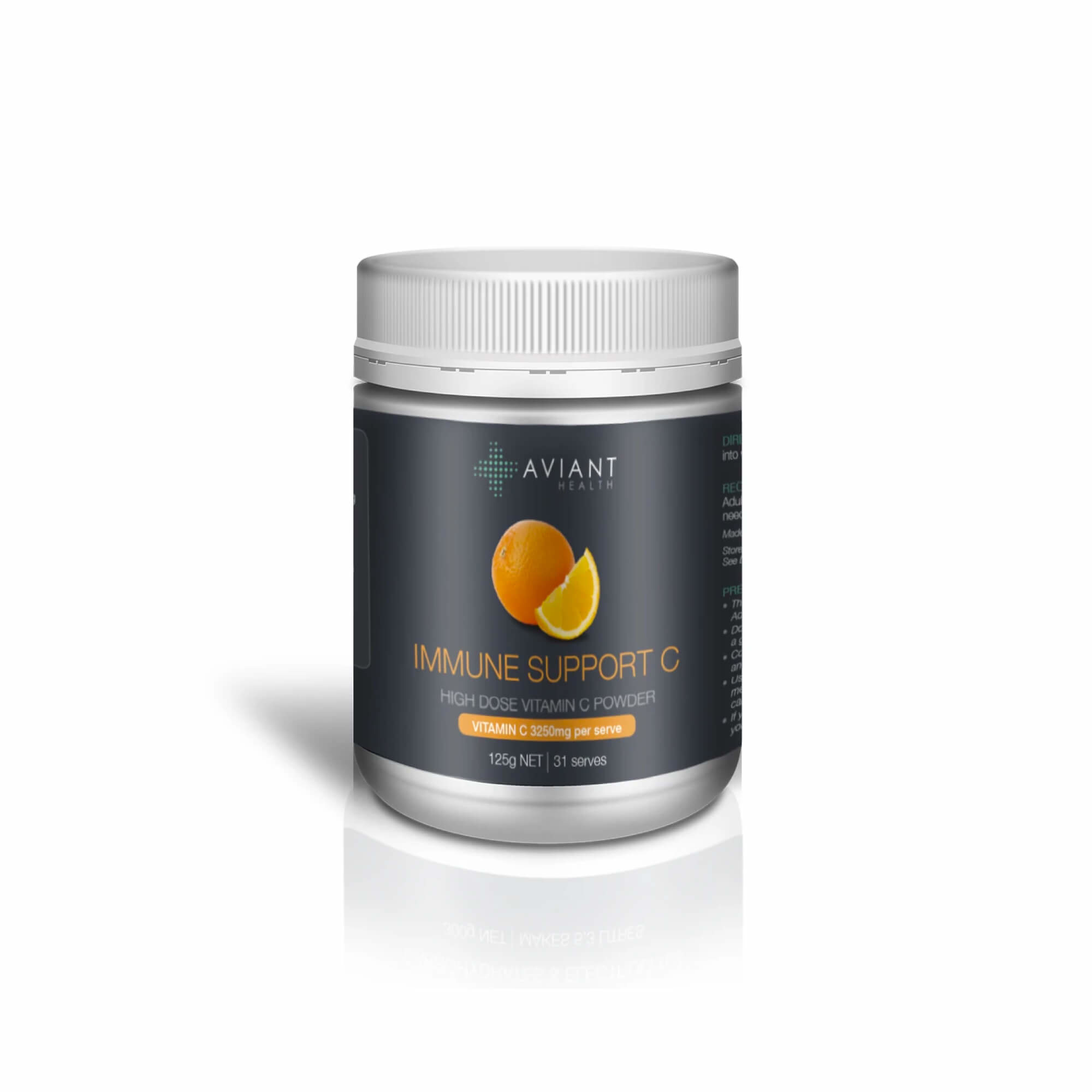 Aviant Immune Support C - High Dose Vitamin C Powder 125g-1