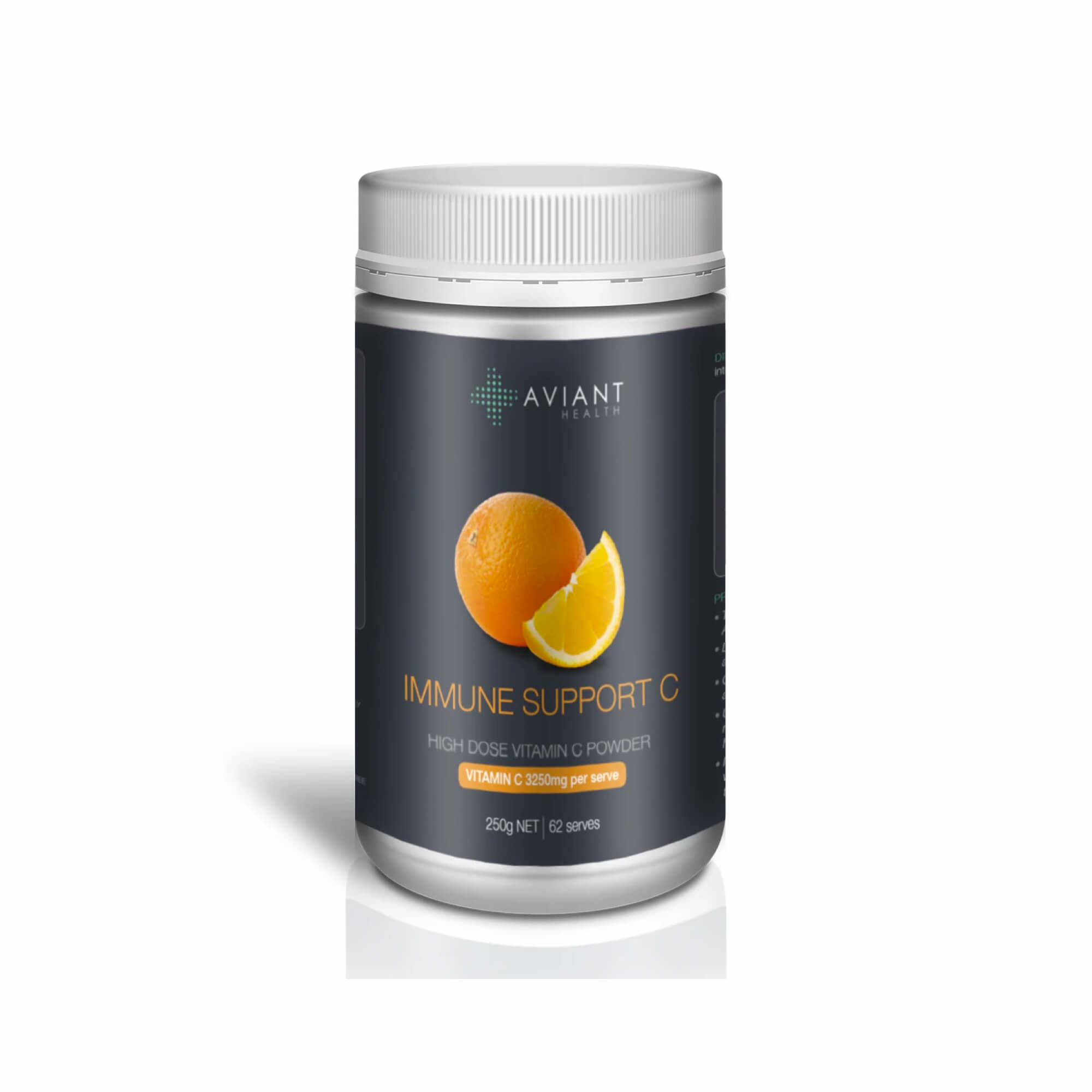 Aviant Immune Support C - High Dose Vitamin C Powder 250g-1
