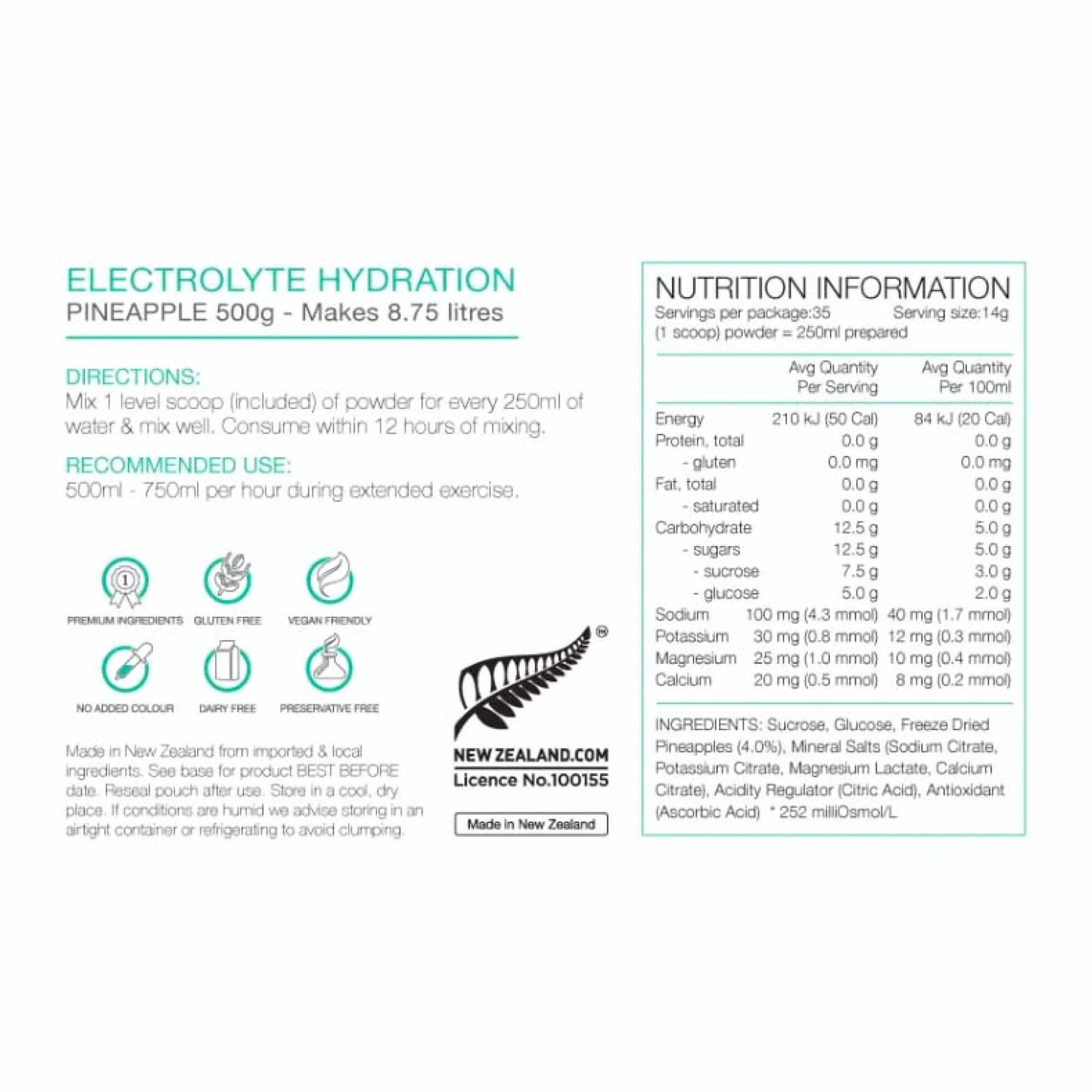 Electrolyte Hydration 500g-8