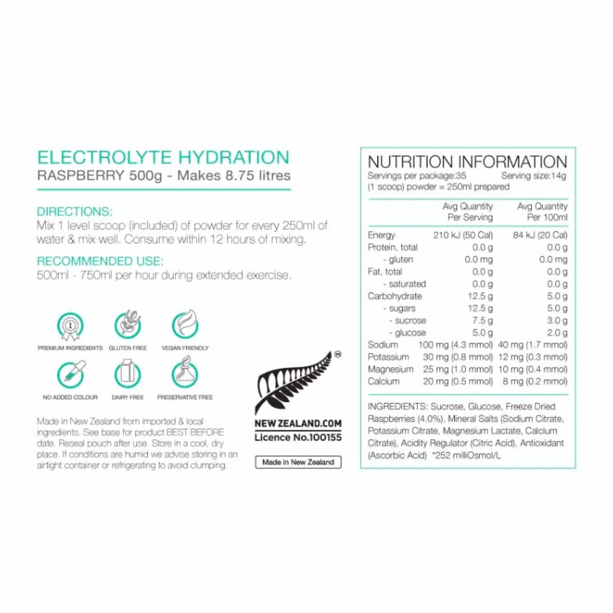 Electrolyte Hydration 500g-9