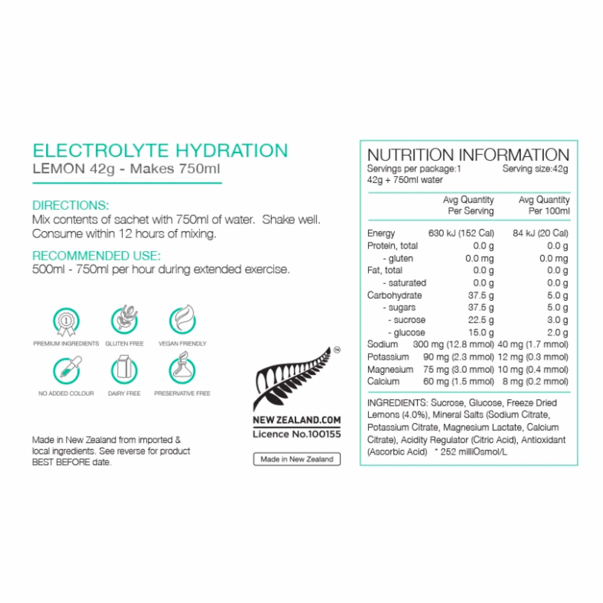 Electrolyte Hydration Sachets-5