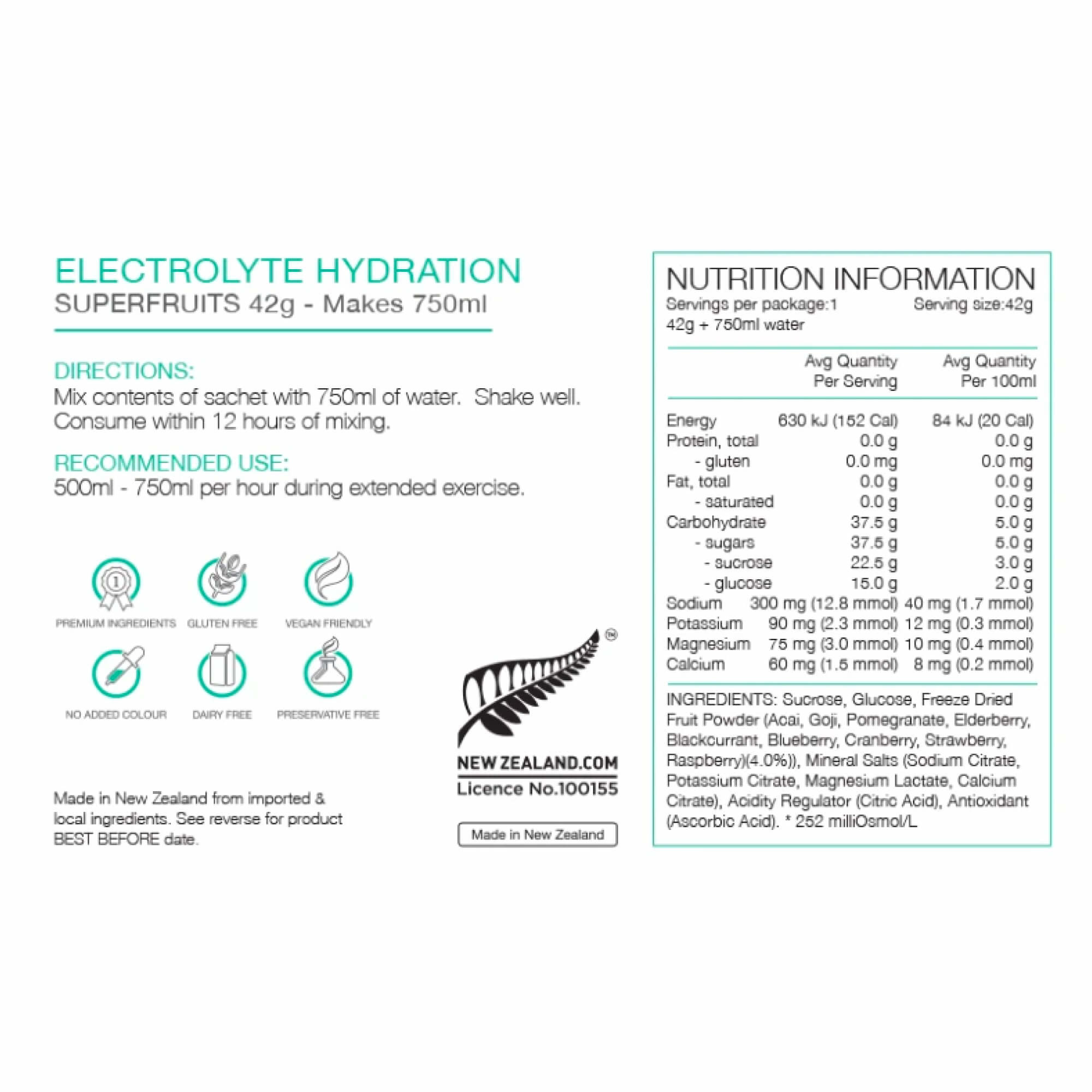 Electrolyte Hydration Sachets-8