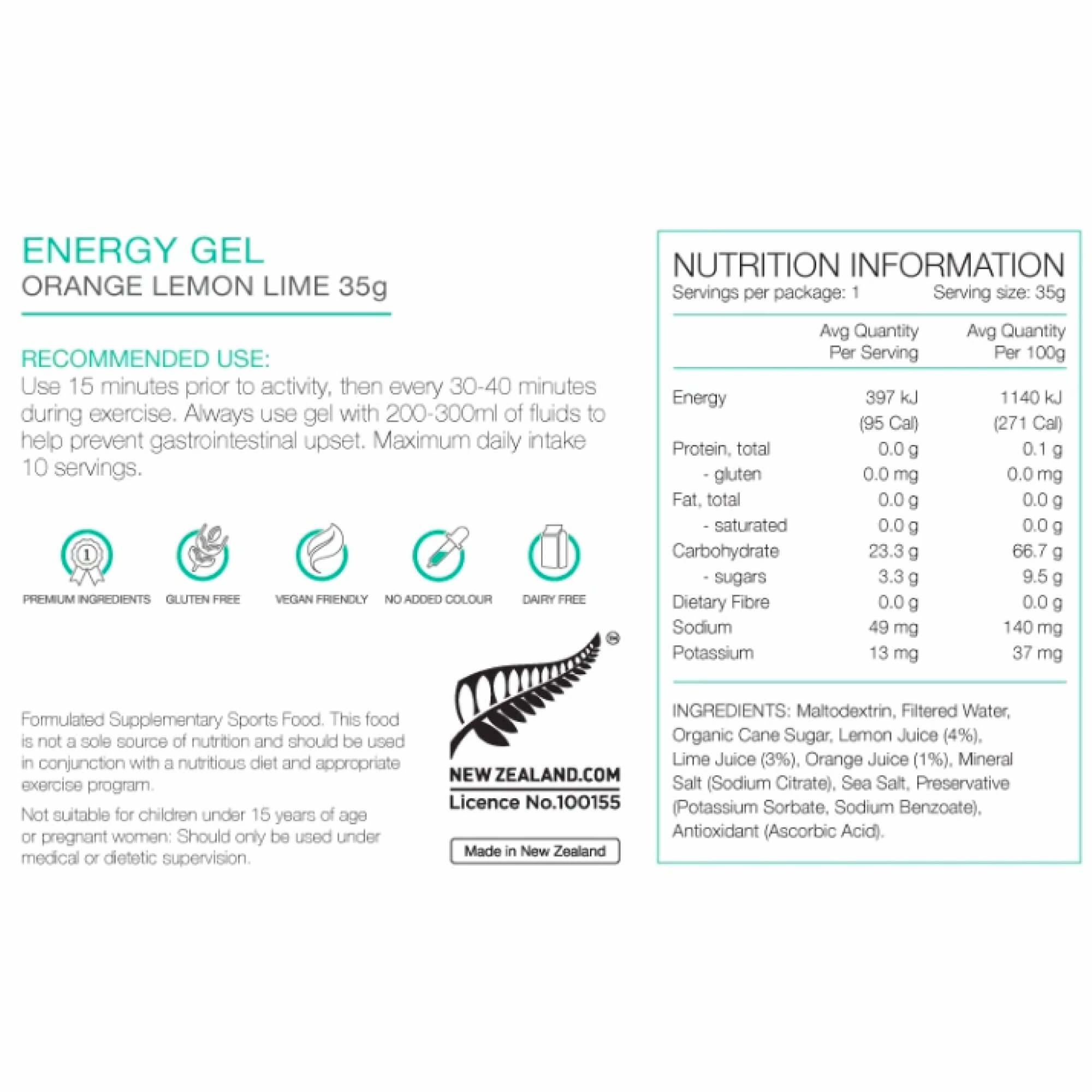 Energy Gel 35g-9