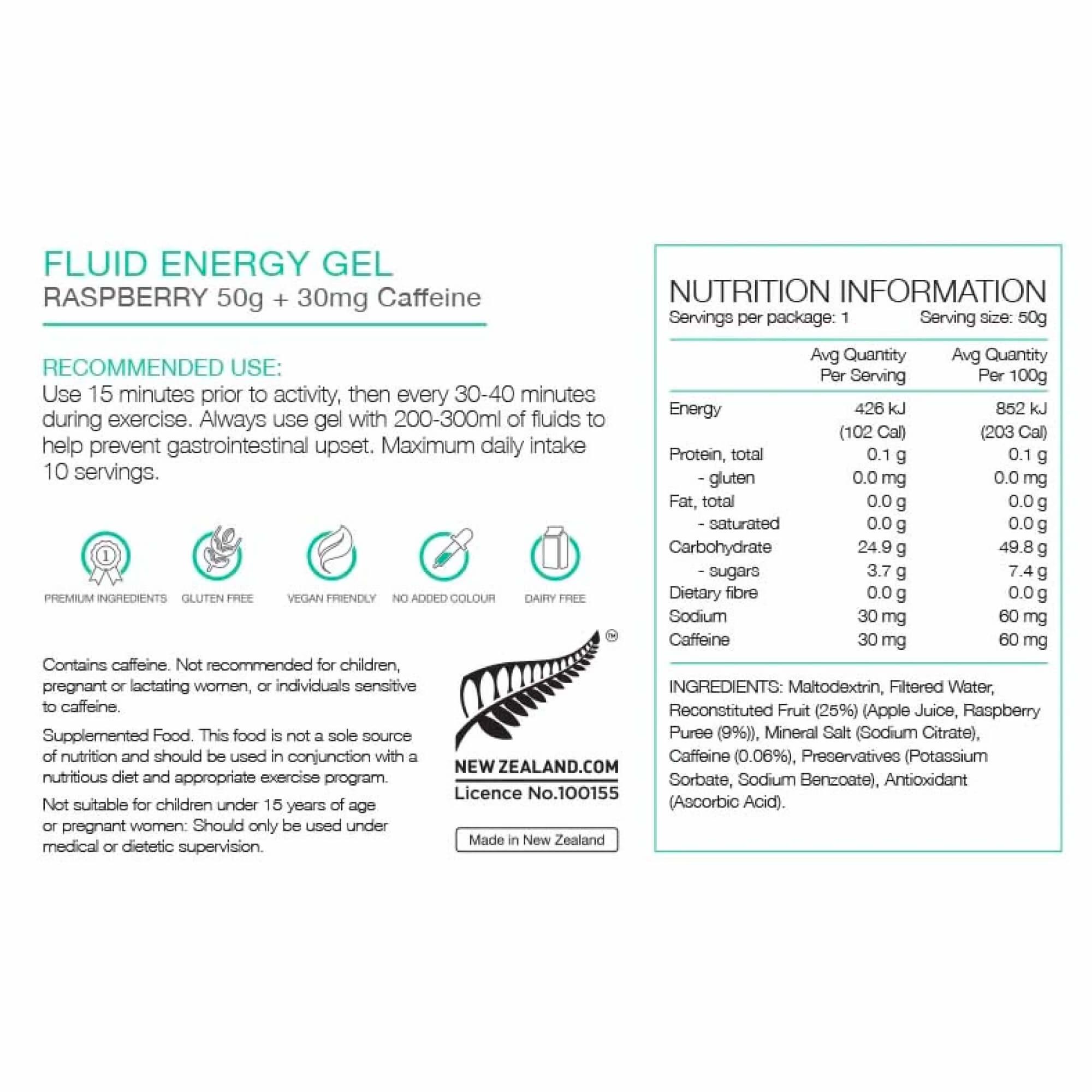 Fluid Energy Gel 50g-4