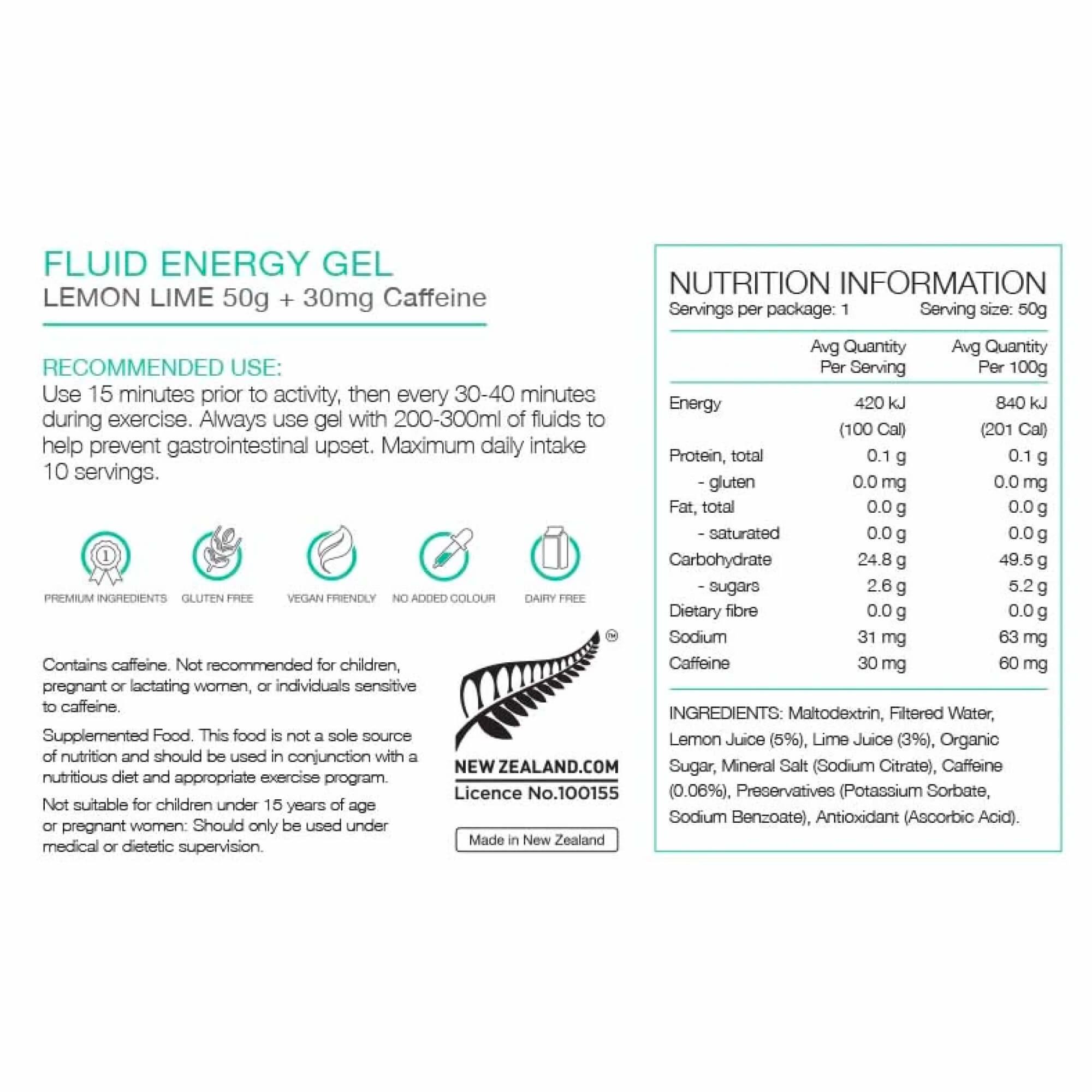 Fluid Energy Gel 50g-5
