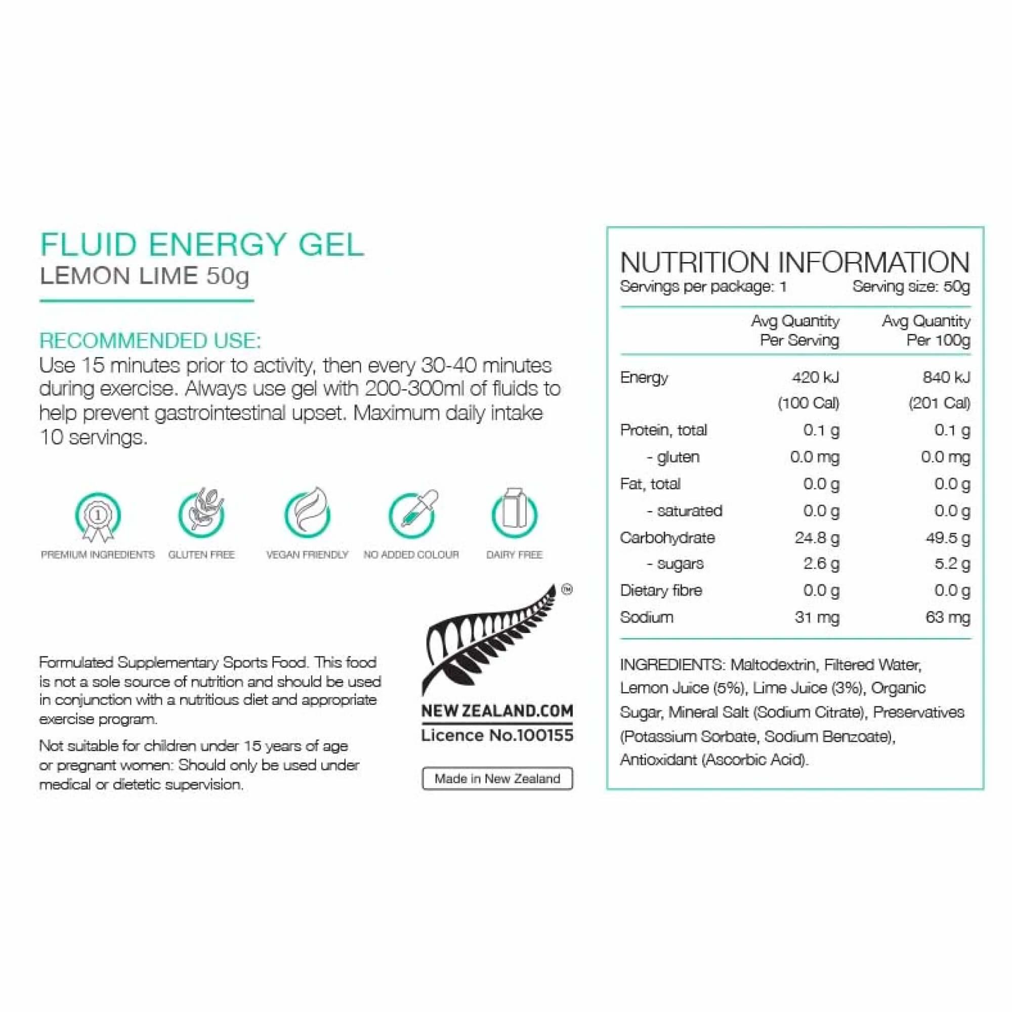 Fluid Energy Gel 50g-6