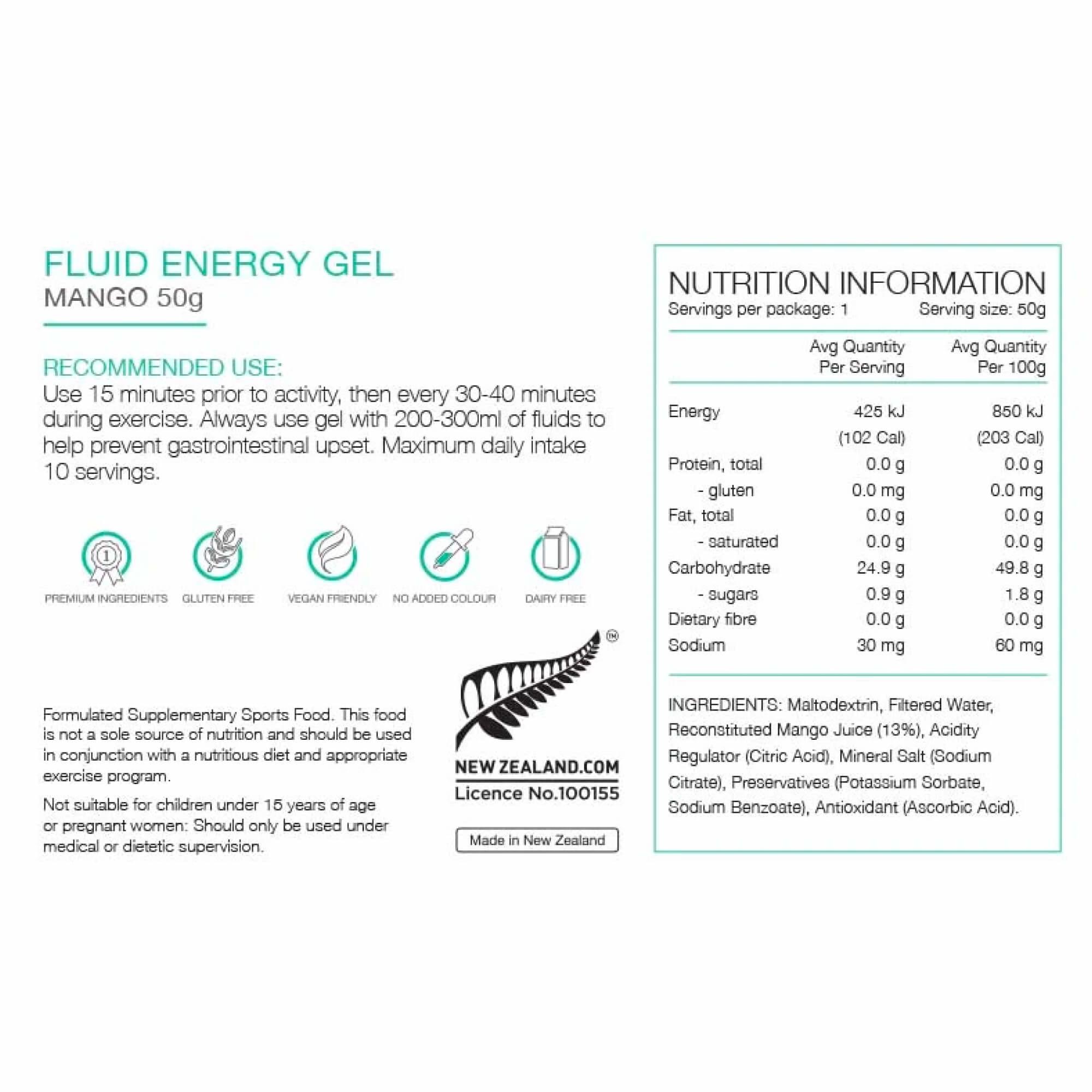 Fluid Energy Gel 50g-7