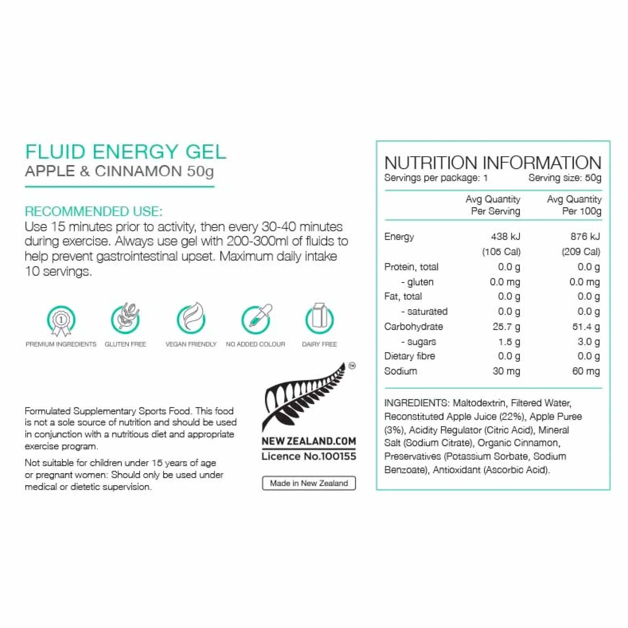 Fluid Energy Gel 50g-8