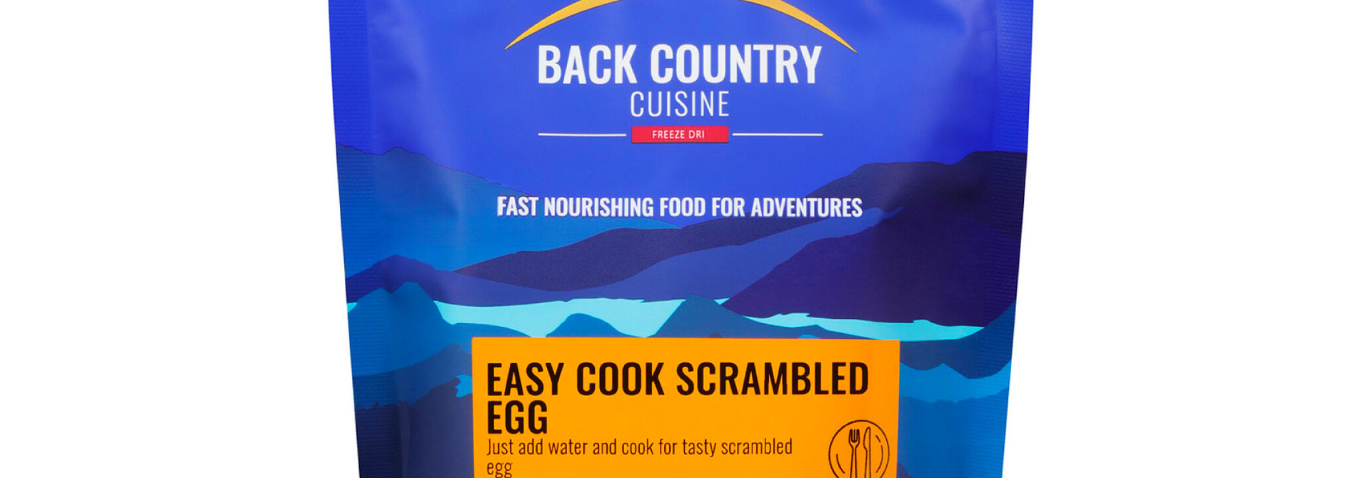 Back Country Cuisine Easy Cook Scrambled Egg Family