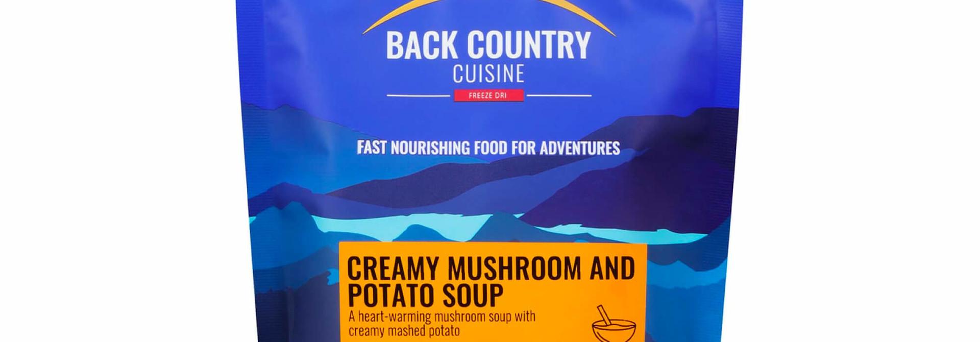 Back Country Cuisine Creamy Mushroom & Potato Soup Regular