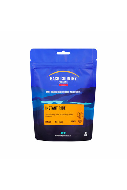 Back Country Cuisine Instant Rice Family