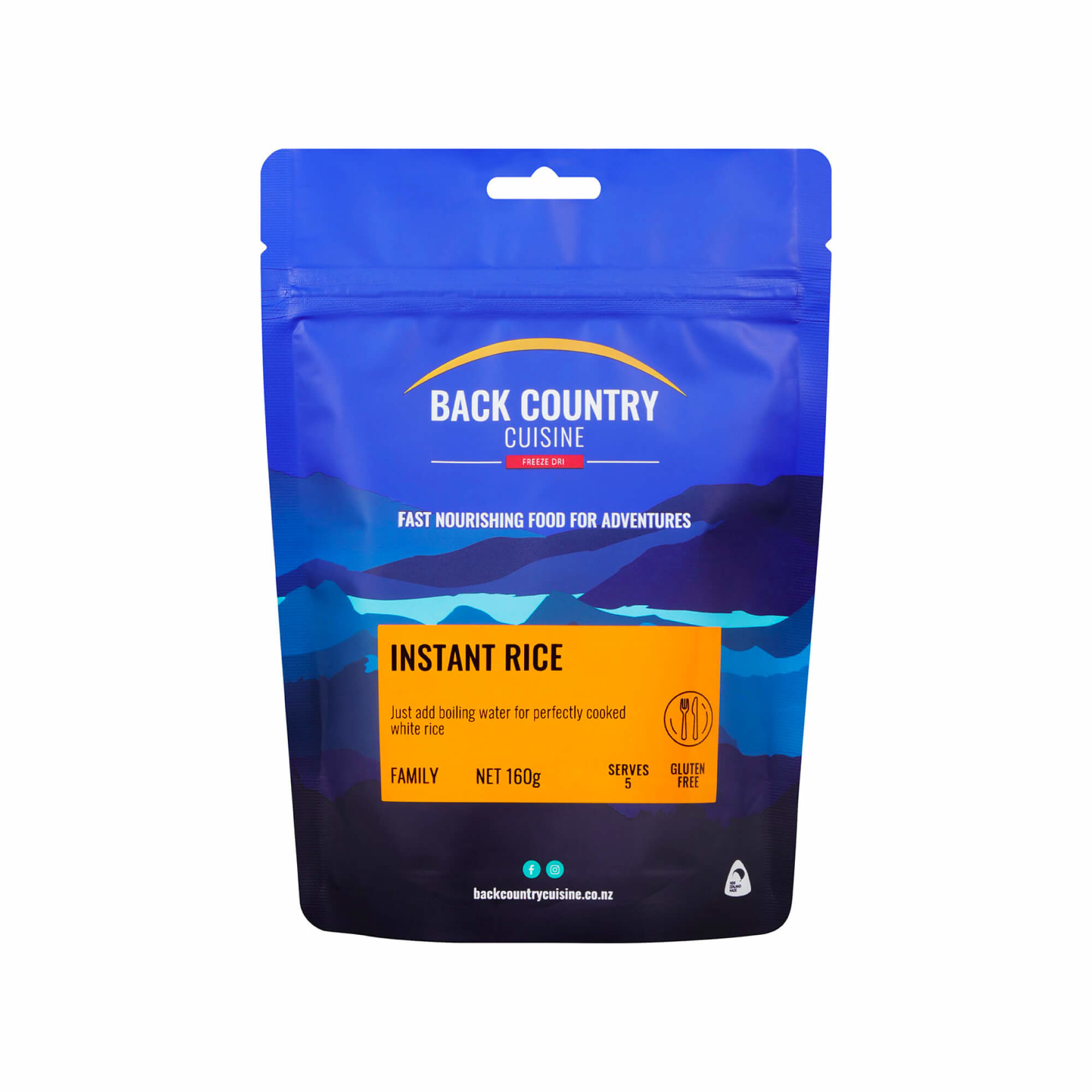 Back Country Cuisine Instant Rice Family-1