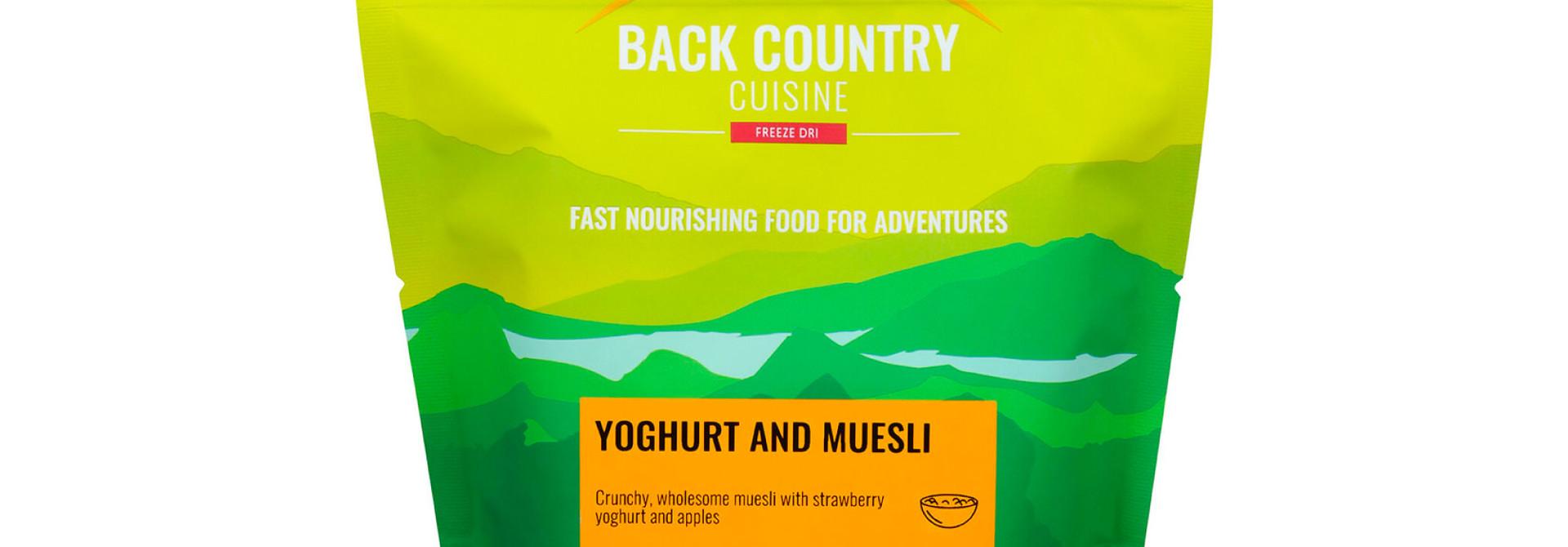 Back Country Cuisine Yoghurt & Muesli Small
