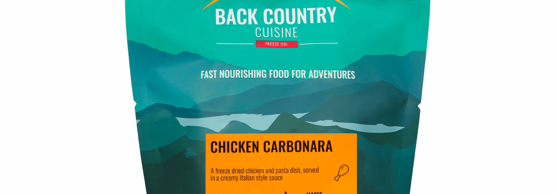 Back Country Cuisine Chicken Carbonara Small