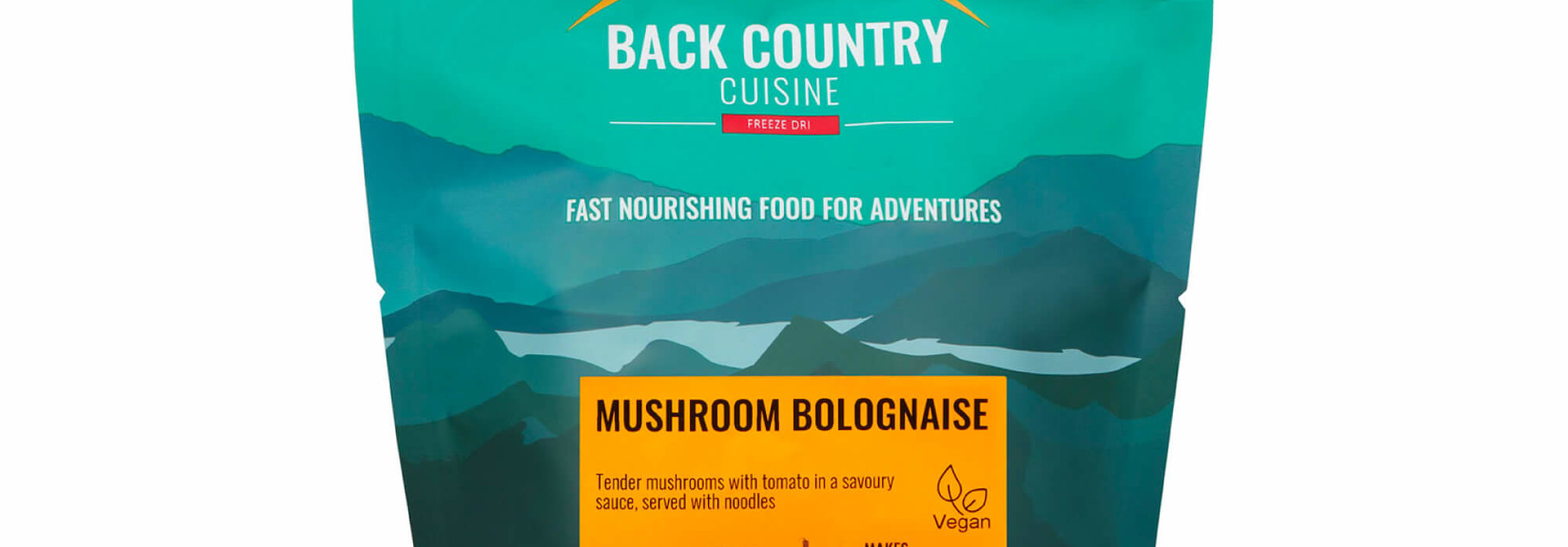 Back Country Cuisine Mushroom Bolognaise Small