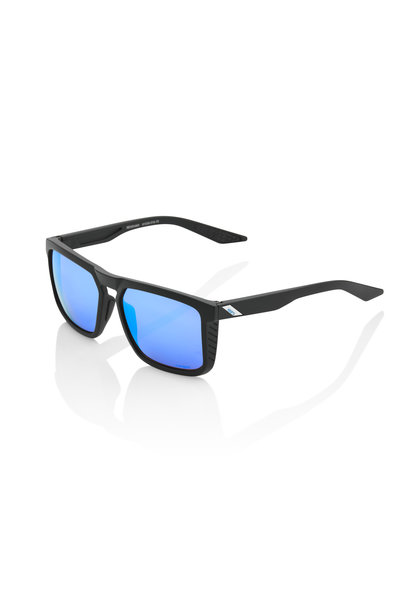 Renshaw Matte Black Hiper Blue Multilayer Mirror Lens