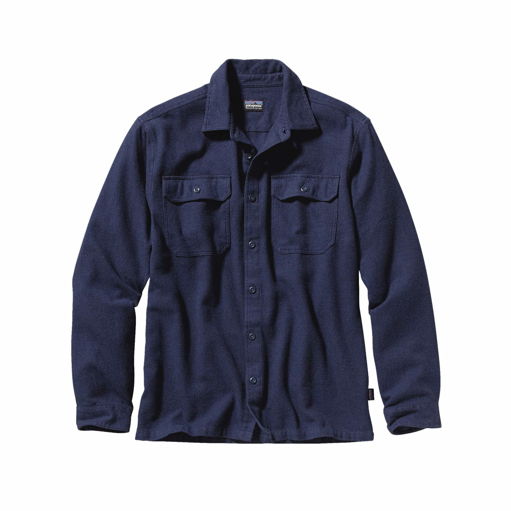 Men's Long Sleeve Fjord Flannel Shirt-2