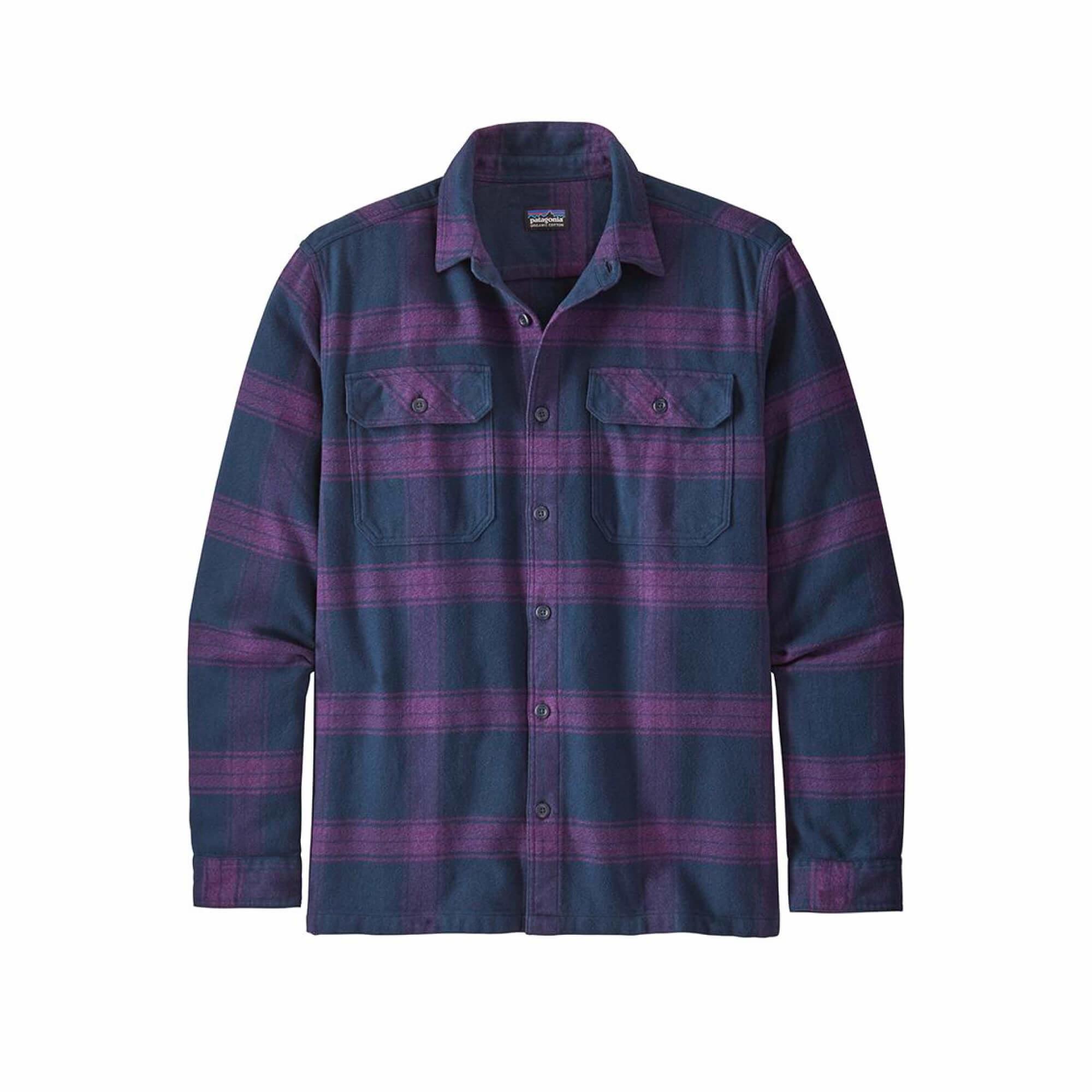 Men's Long Sleeve Fjord Flannel Shirt-1