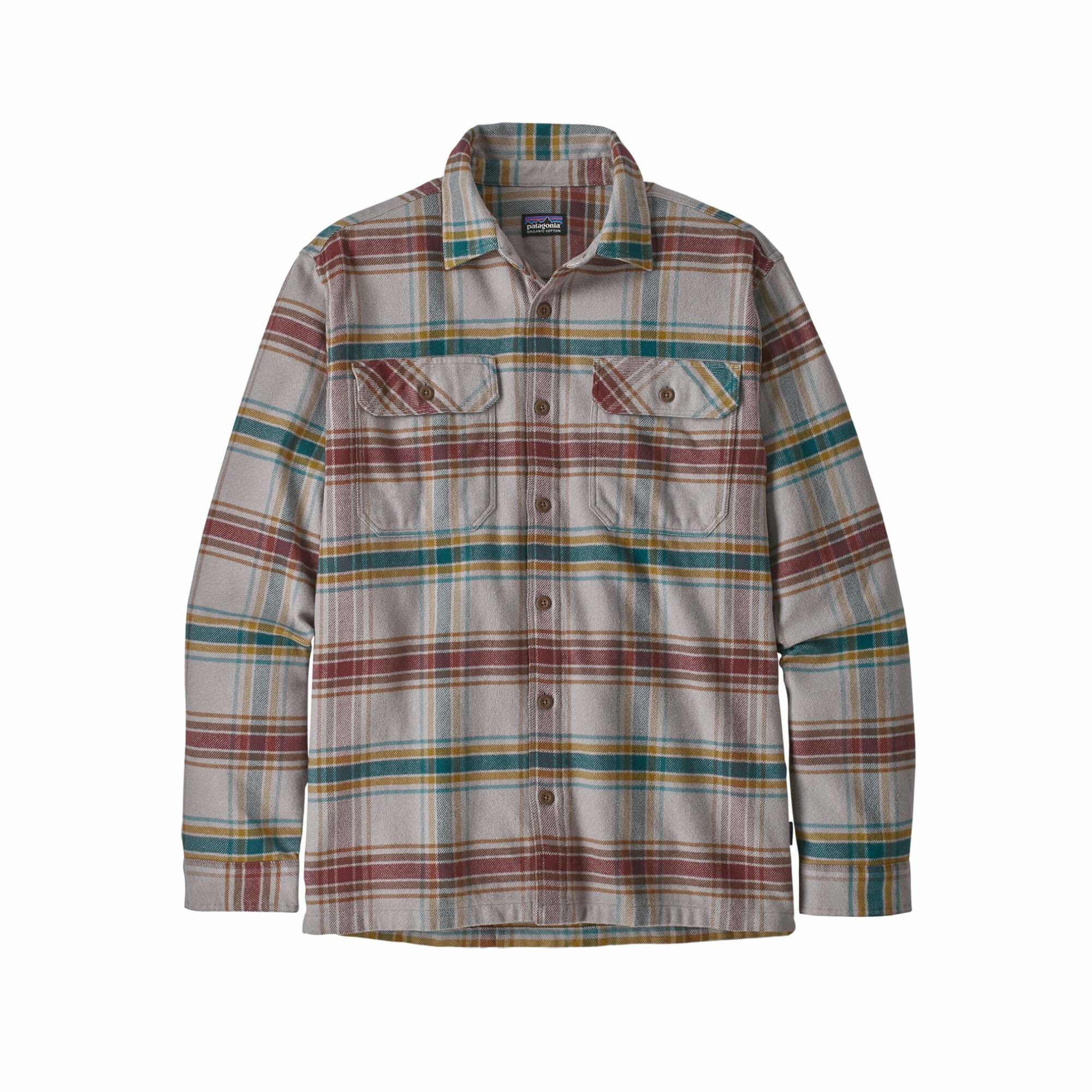 Men's Long Sleeve Fjord Flannel Shirt-3